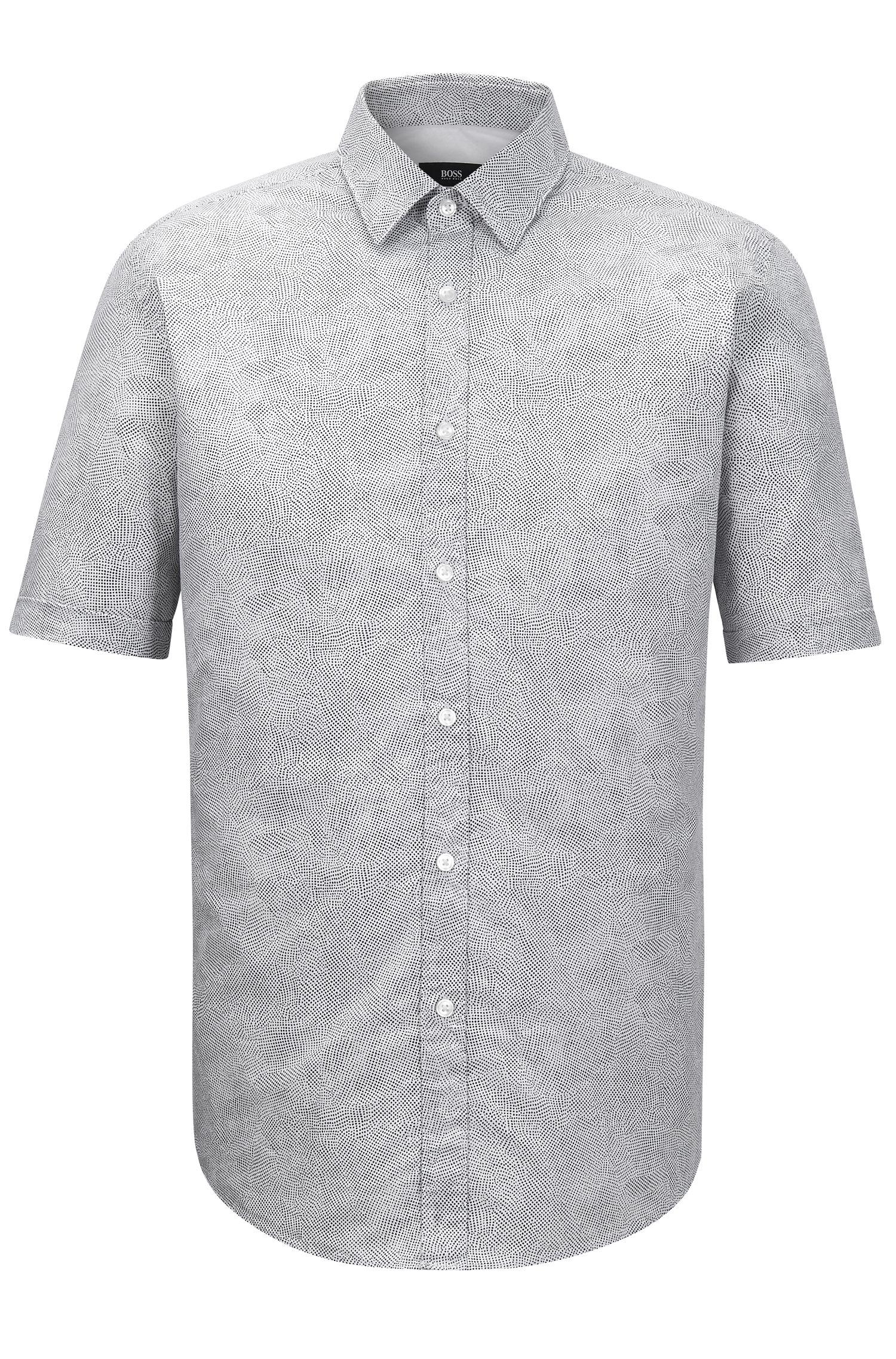 'Luka'   Regular Fit, Stretch Cotton Button Down Shirt