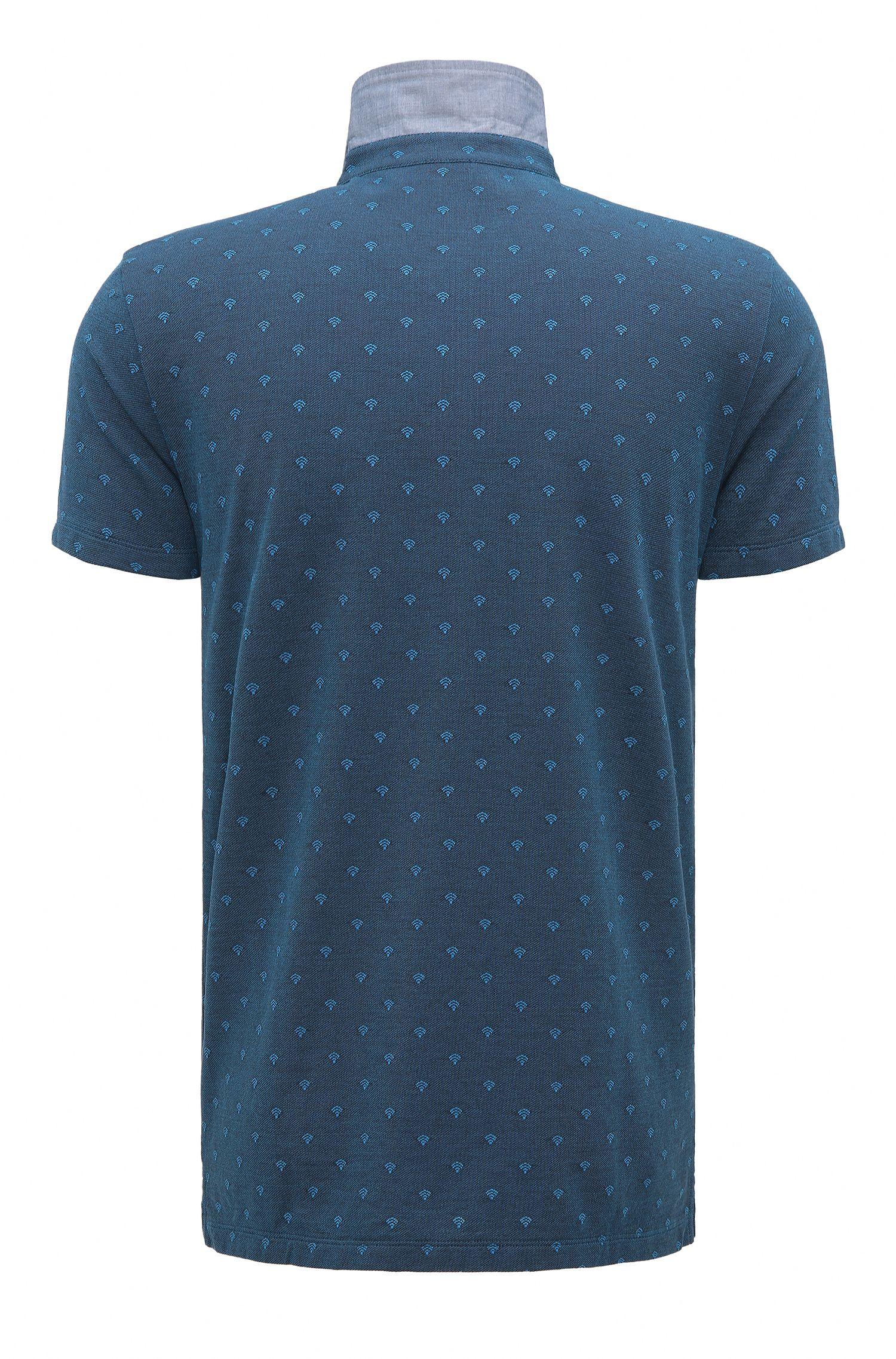 Wifi Cotton Polo, Regular Fit | Pixel