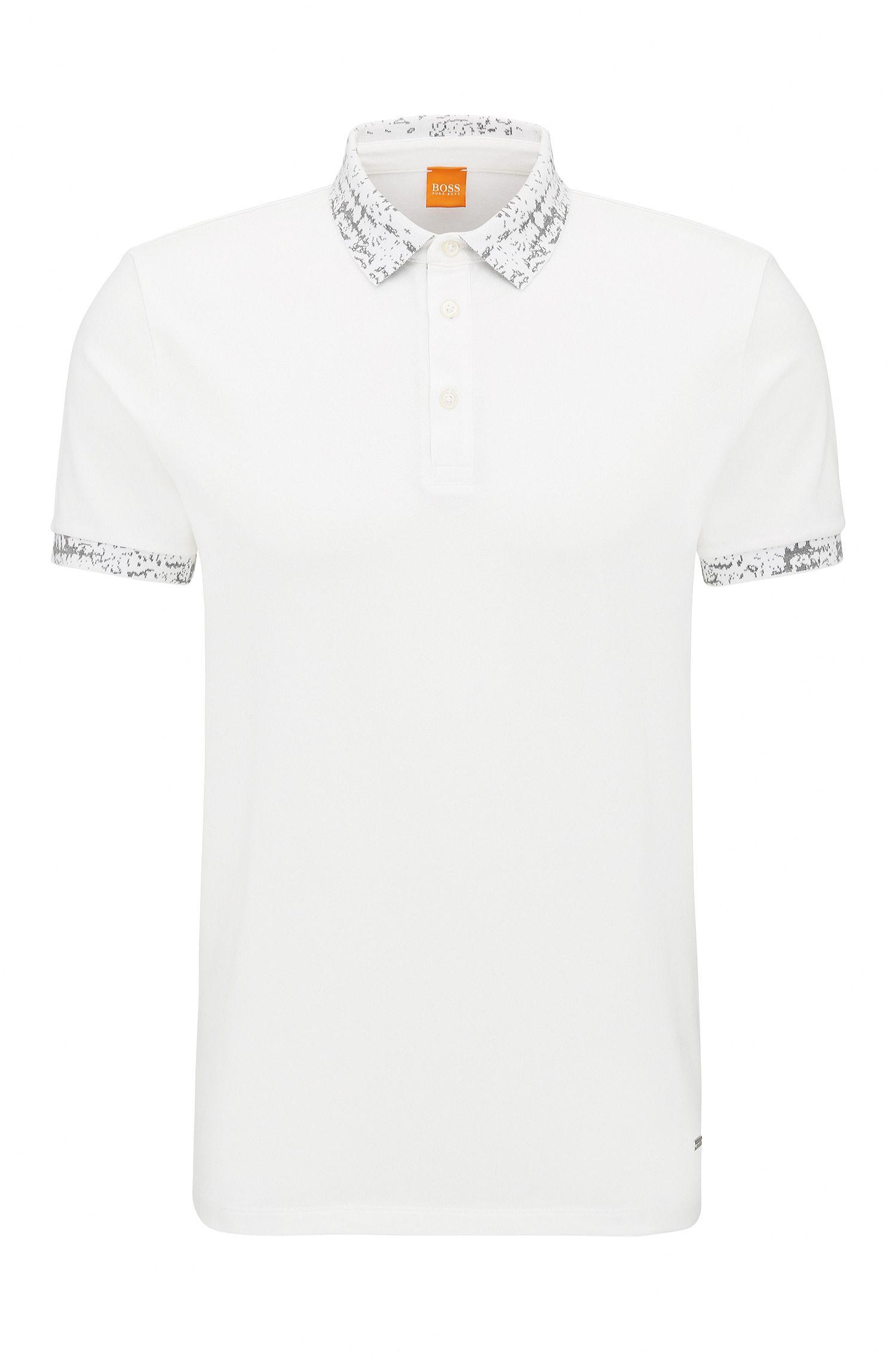 Stretch Cotton Piqué Polo Shirt, Regular Fit | Prior