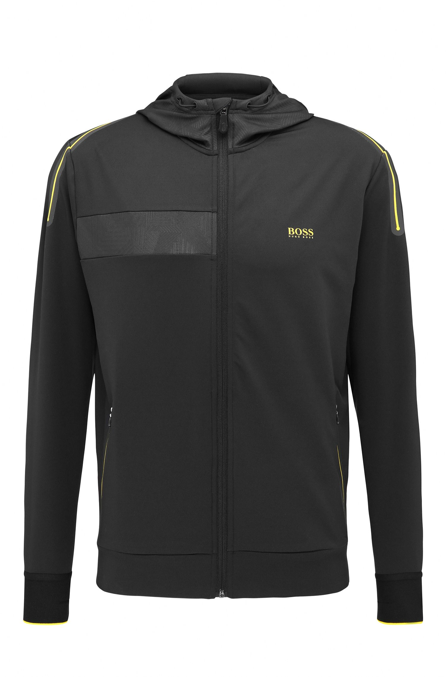 Hooded Full-Zip Sweater Jacket | Saggytech