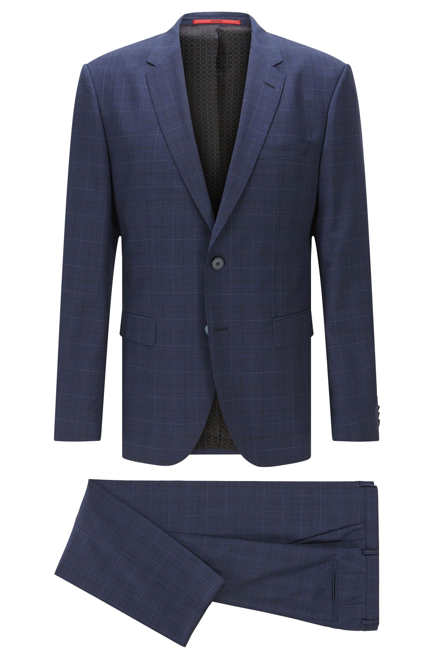 Italian Wool Suit, Regular Fit | C-Jeys/C-Shaft