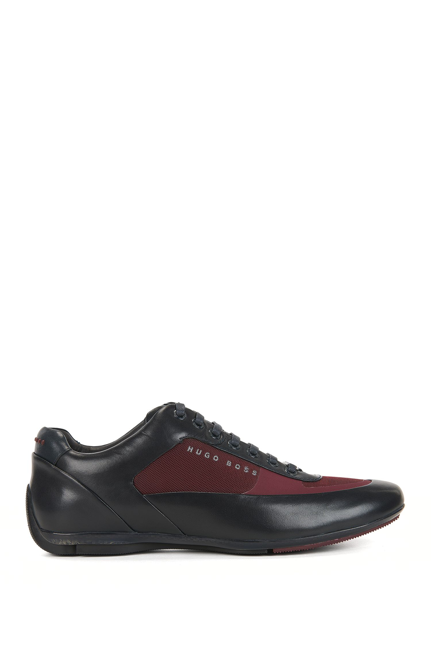 Leather Sneaker   HBRacing Lowp Itny