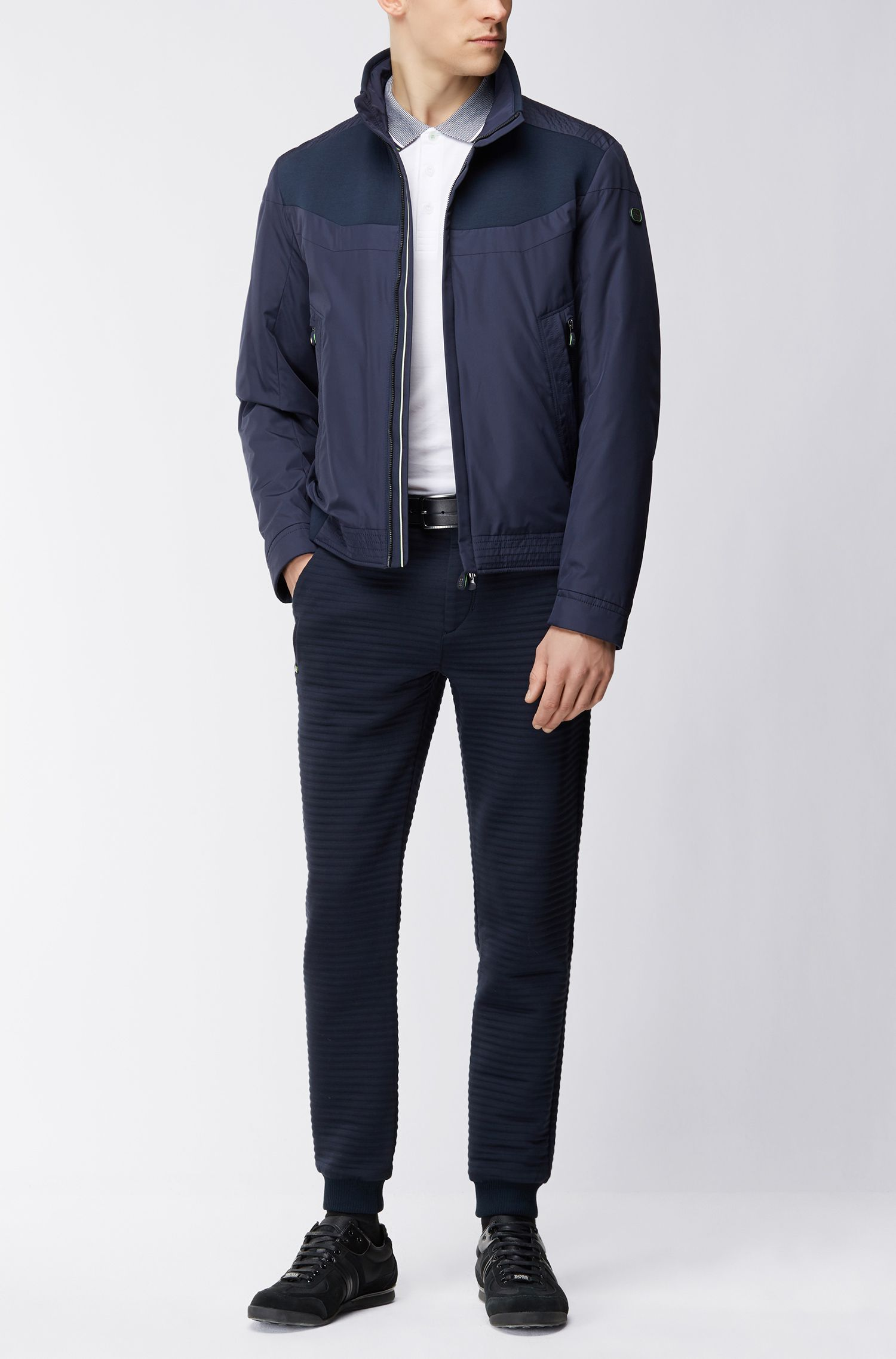 Cotton Piqué Polo Shirt, Regular Fit | Paddos, White