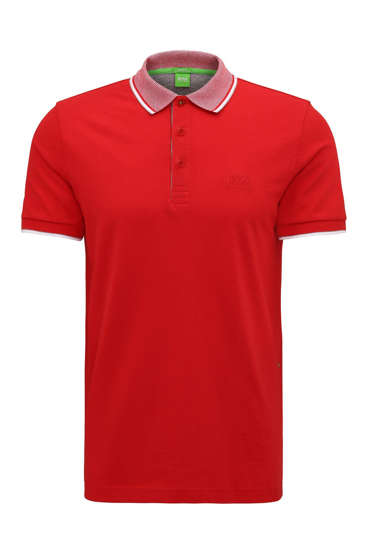 'Paddos' | Regular fit, Cotton Piqué Polo Shirt