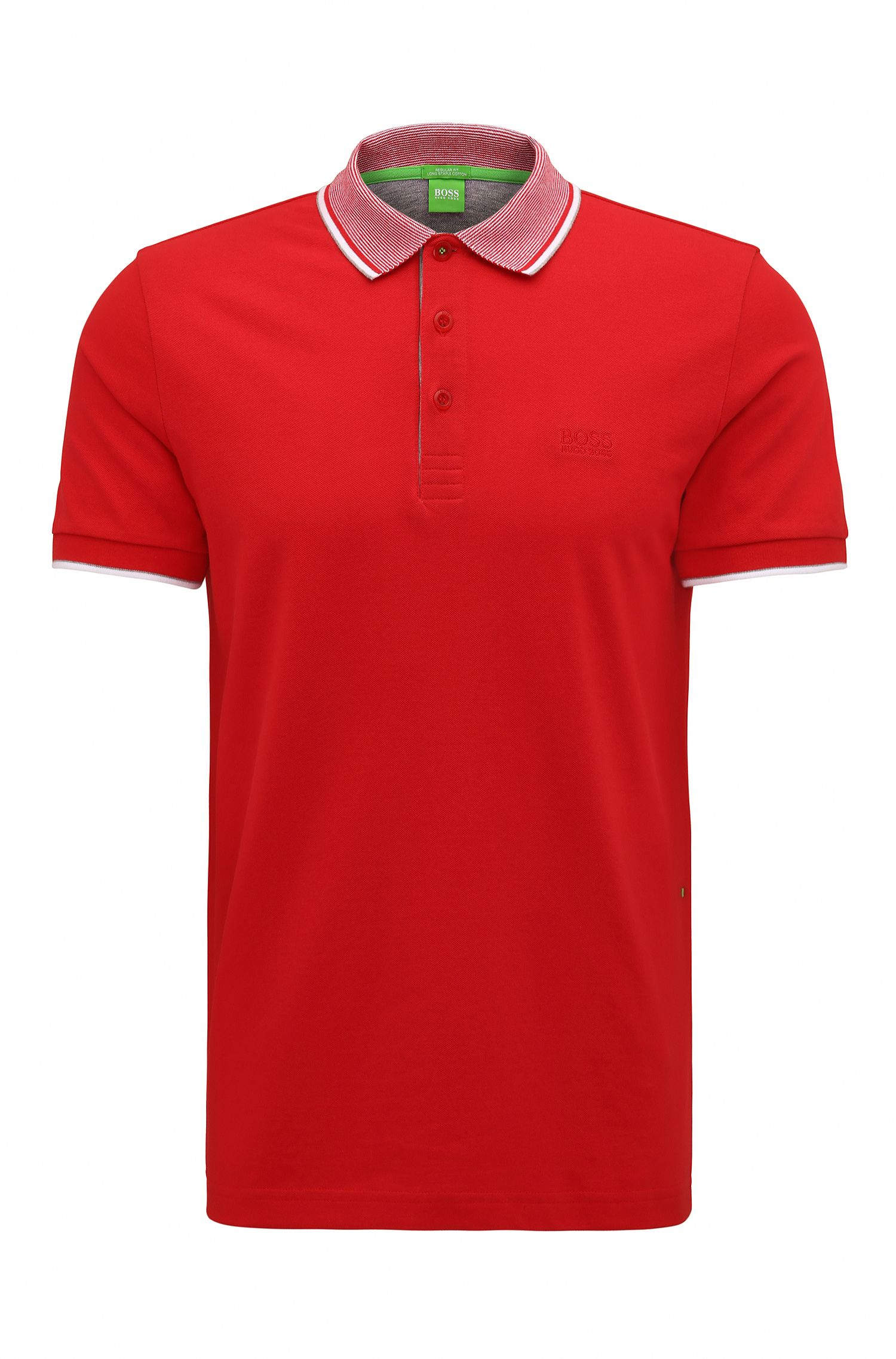 Cotton Piqué Polo Shirt, Regular Fit | Paddos