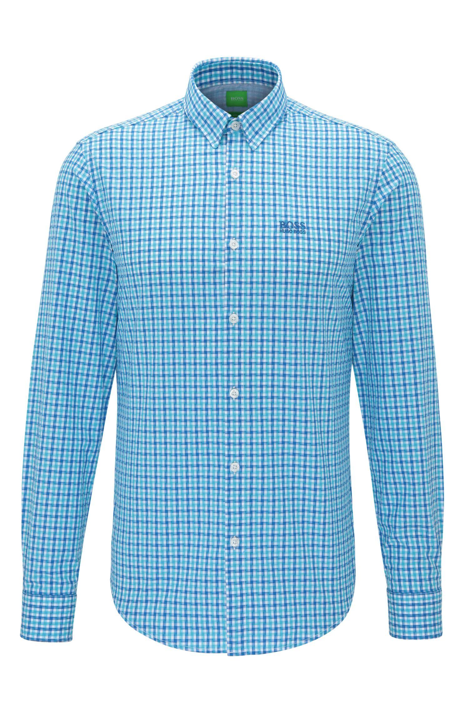 'C-Buster' | Regular Fit, Cotton Button Down Shirt