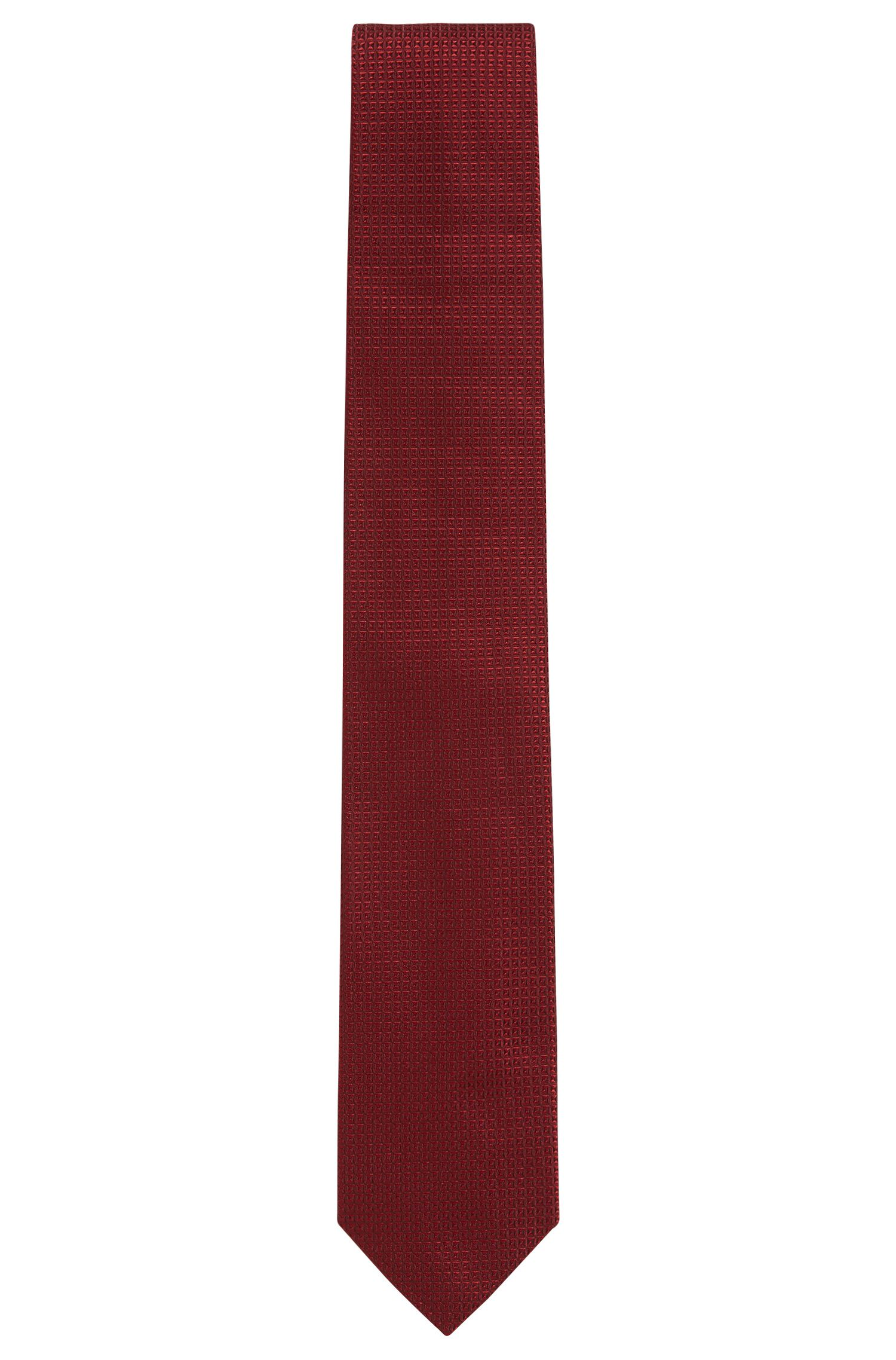 'Tie 7 cm' | Regular, Microdiamond Italian Silk Tie