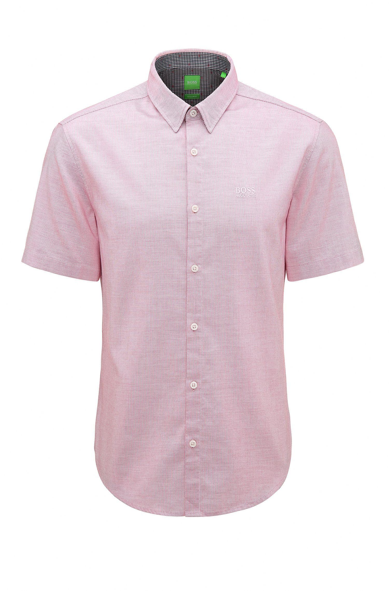 Cotton Button Down Shirt, Regular Fit | C-Busterino