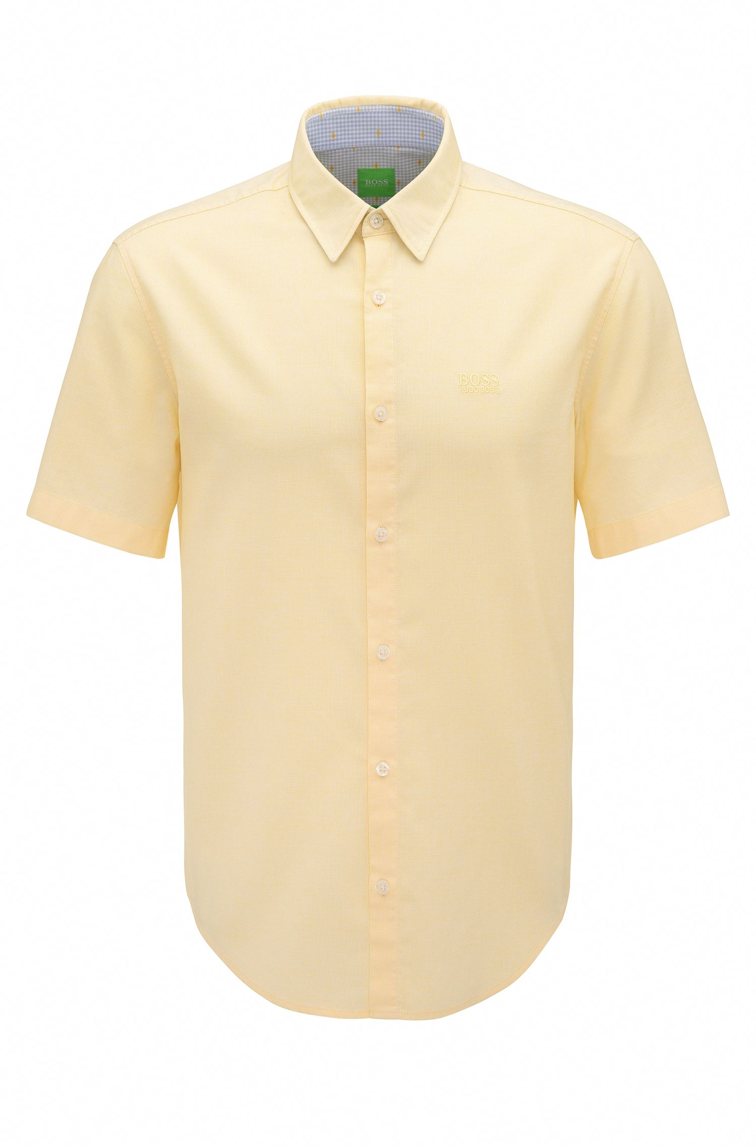 Cotton Button Down Shirt, Regular Fit | C-Busterino