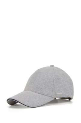 Cotton Blend Twill Cap | Serios, Open Grey