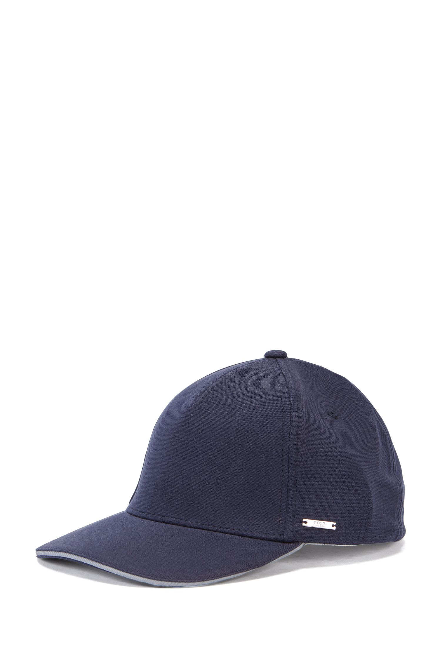 Cotton Blend Twill Cap | Serios, Dark Blue