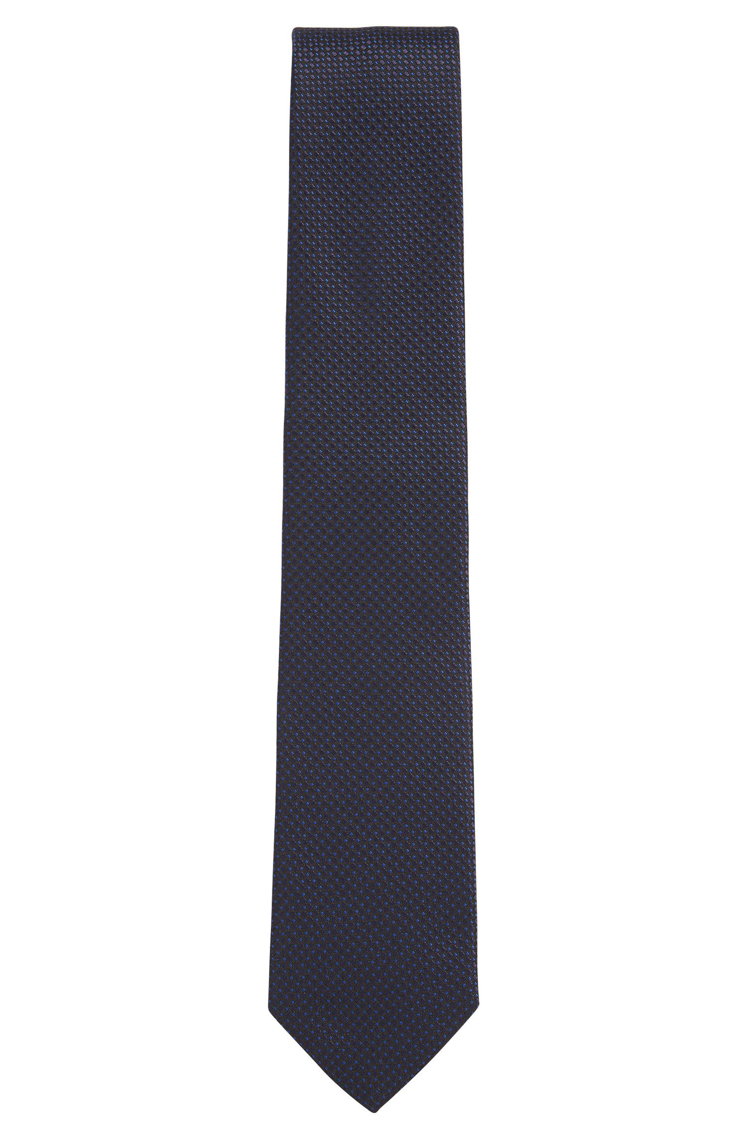 Pin Dot Silk Tie, Regular Fit | Tie 7.5 cm