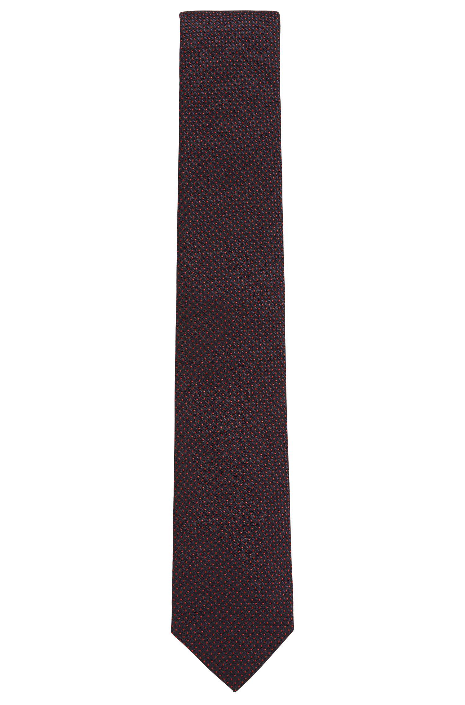 Pin Dot Silk Tie, Regular Fit | Tie 7.5 cm