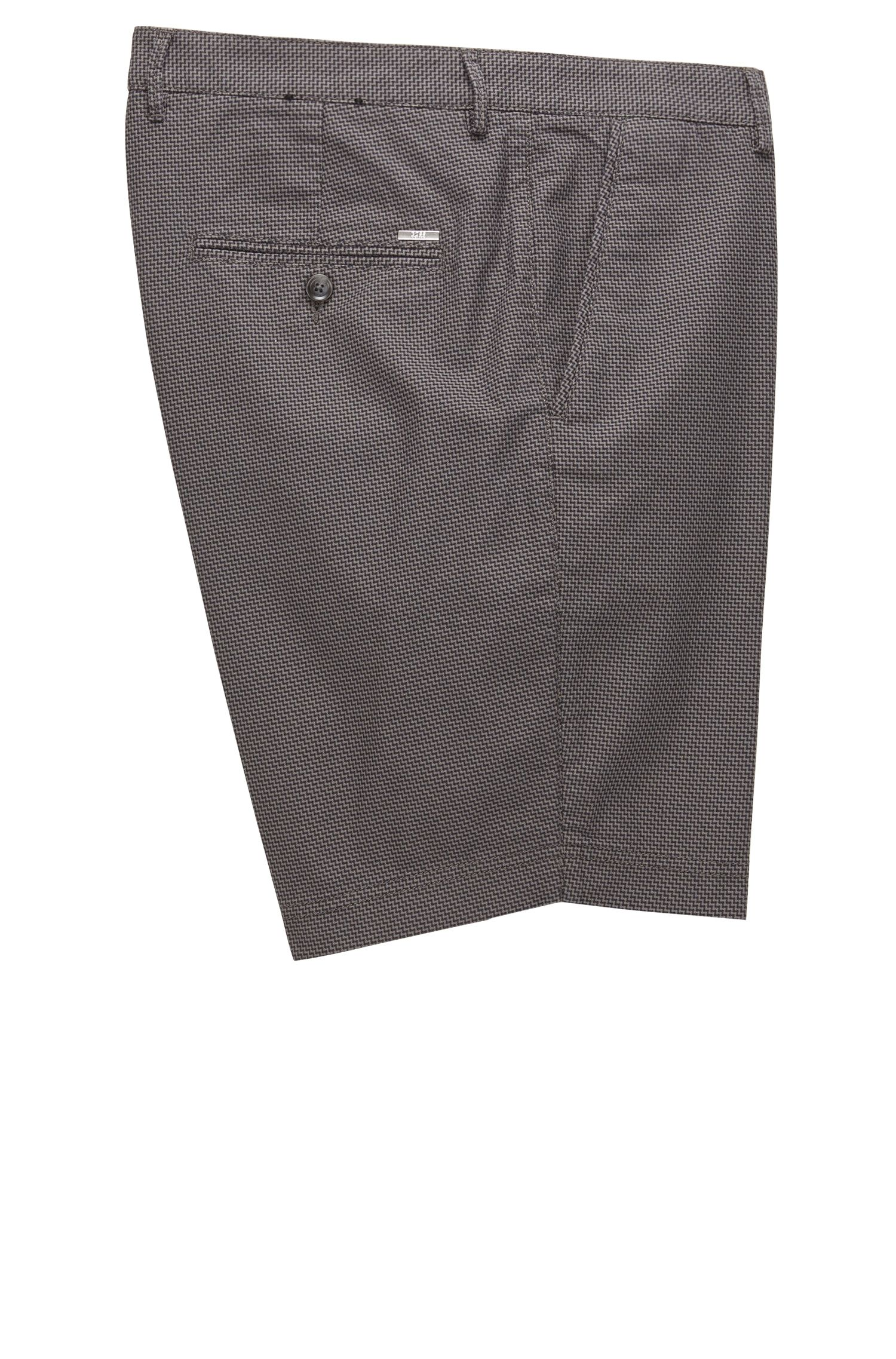 Stretch Cotton Shorts, Regular Fit | Crigan Short W