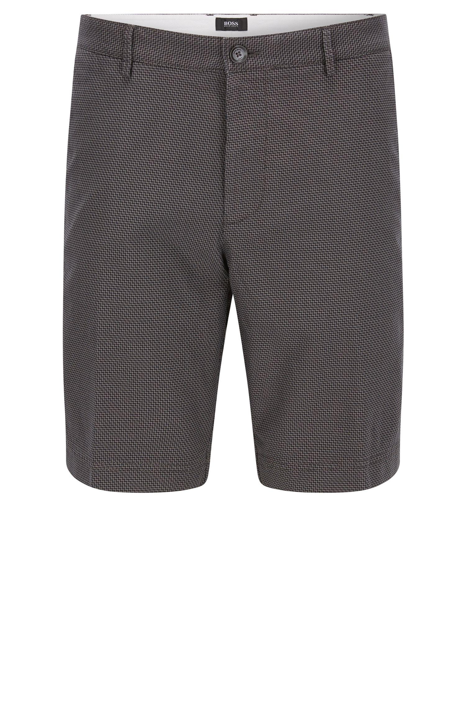 'Crigan Short W' | Regular Fit, Stretch Cotton Shorts