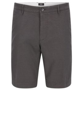 'Crigan Short W' | Regular Fit, Stretch Cotton Shorts, Open Grey