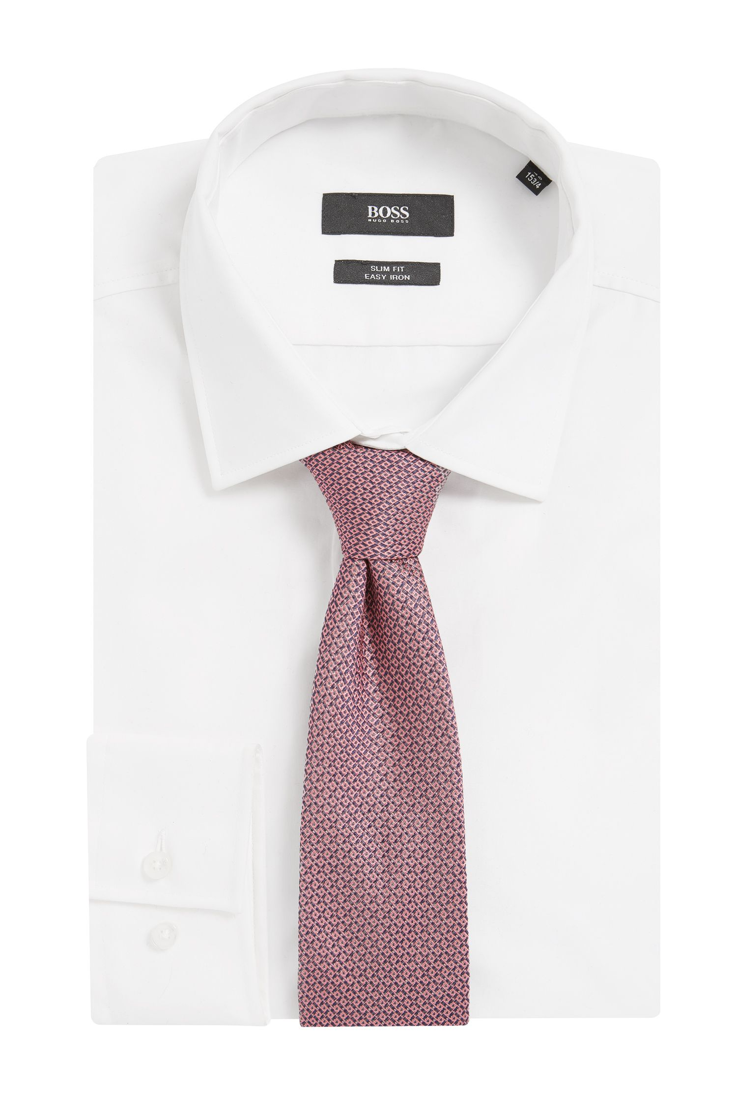 Italian Silk Tie, light pink