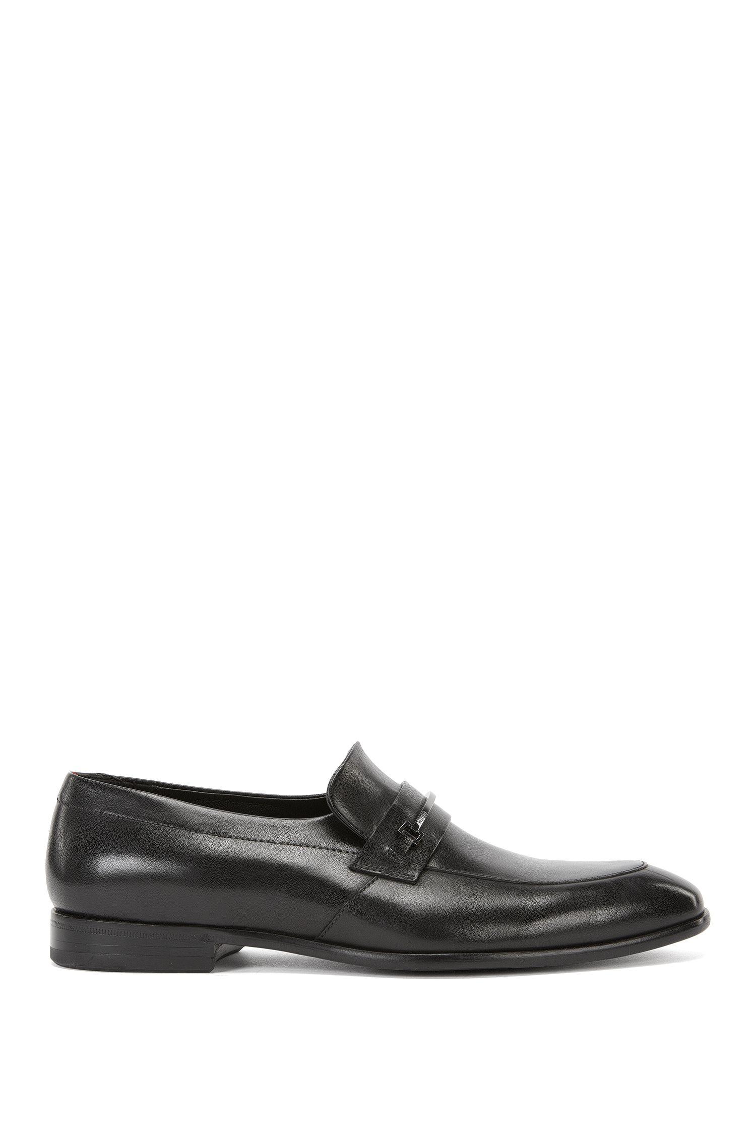 Horse-Bit Leather Loafer | Dressapp Loaf Buhw, Black