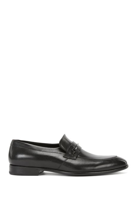 2f36f16039b HUGO - Horse-Bit Leather Loafer