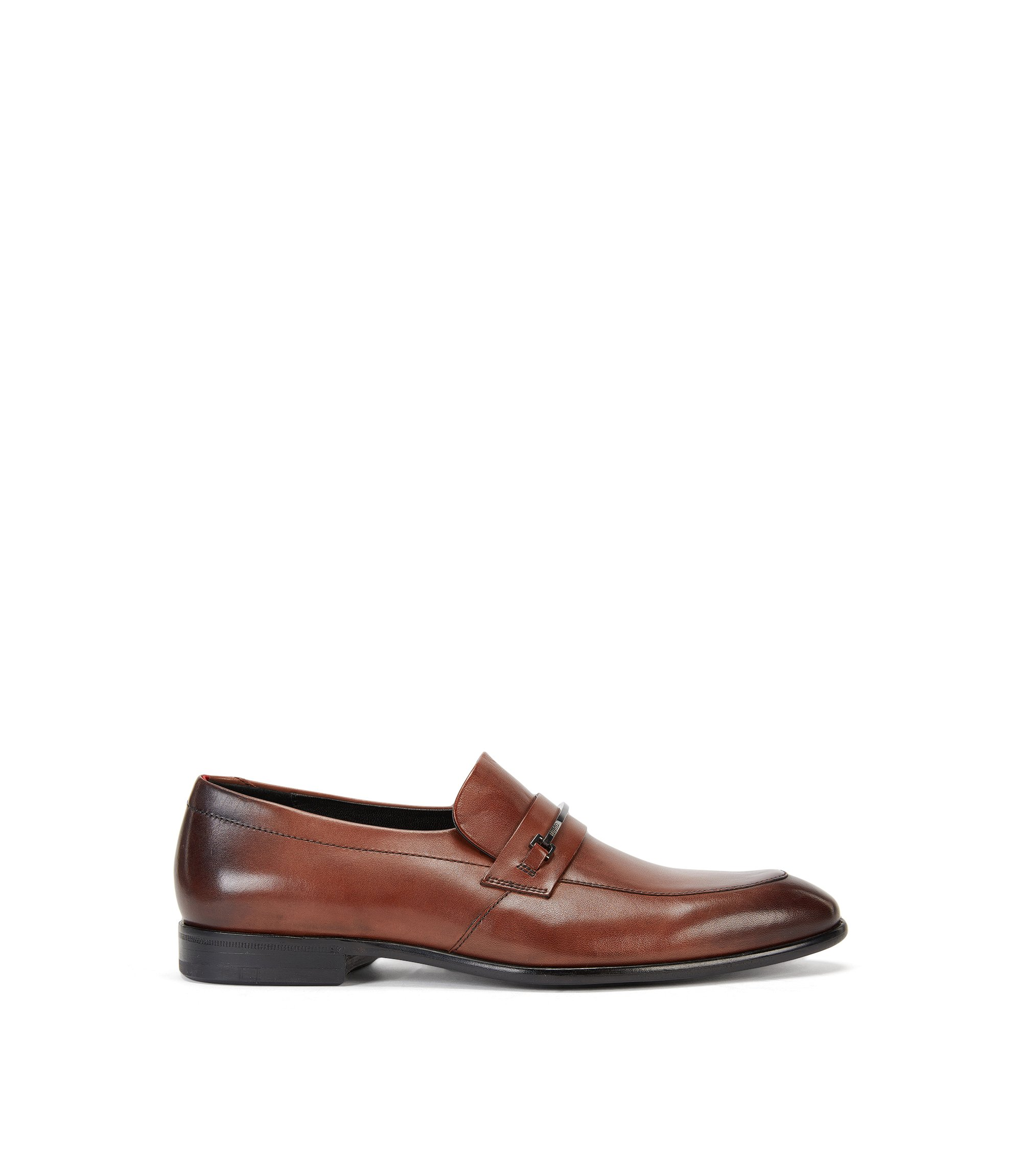 Horse-Bit Leather Loafer | Dressapp Loaf Buhw, Brown