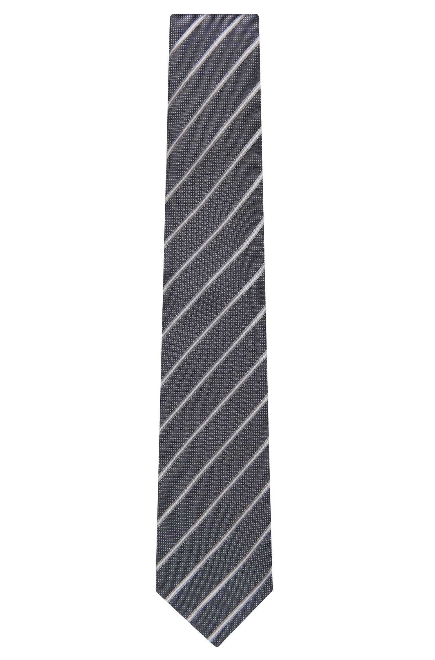 Striped Italian Silk Tie