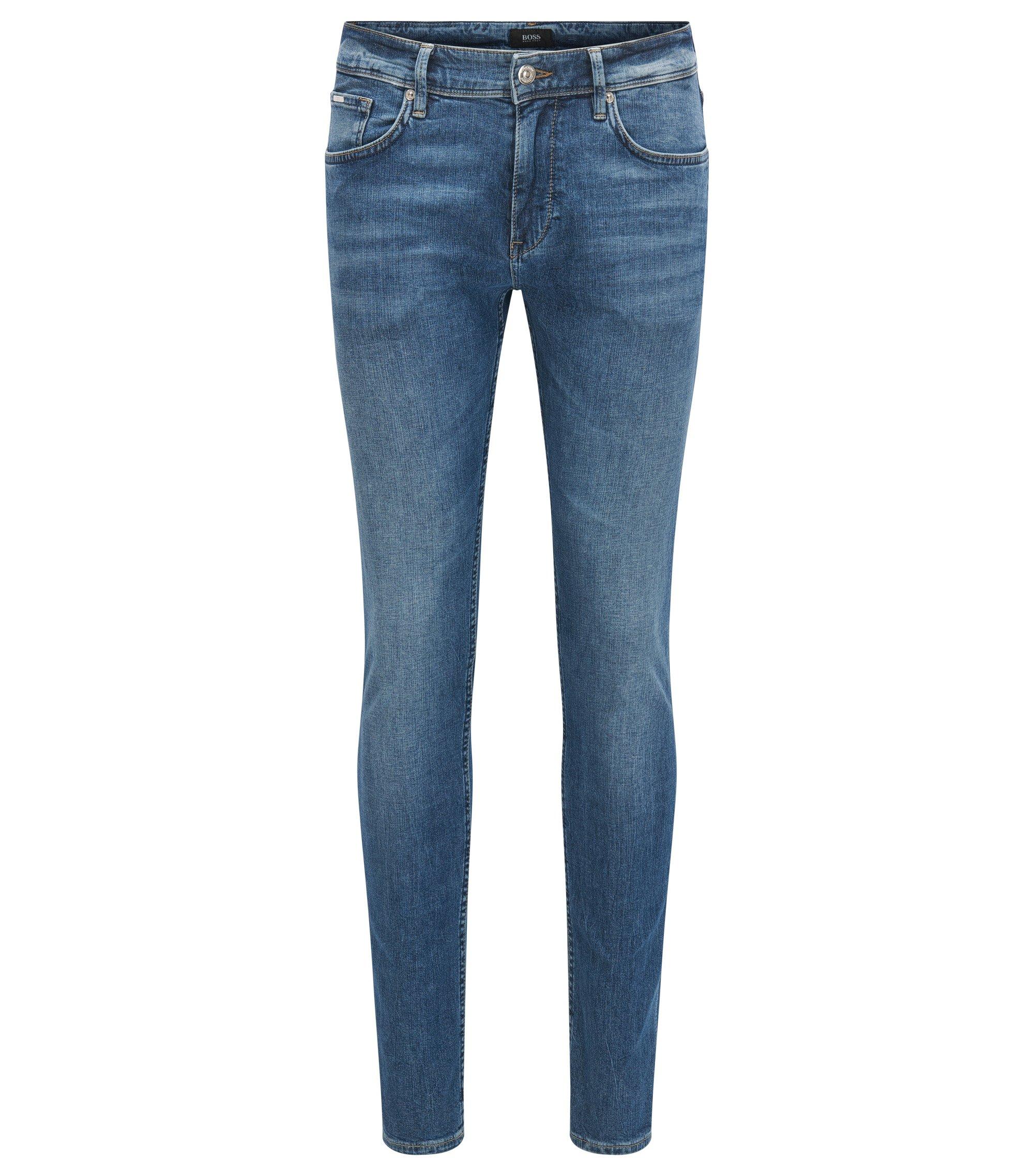 Stretch Cotton Jean, Slim Fit | Charleston, Blue