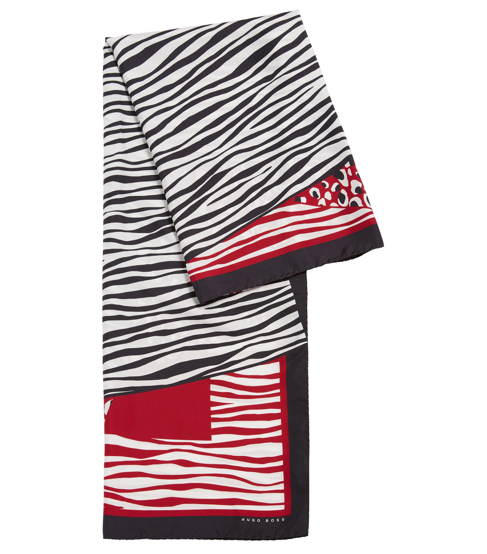Animal Print Silk Scarf | Lawera, Patterned