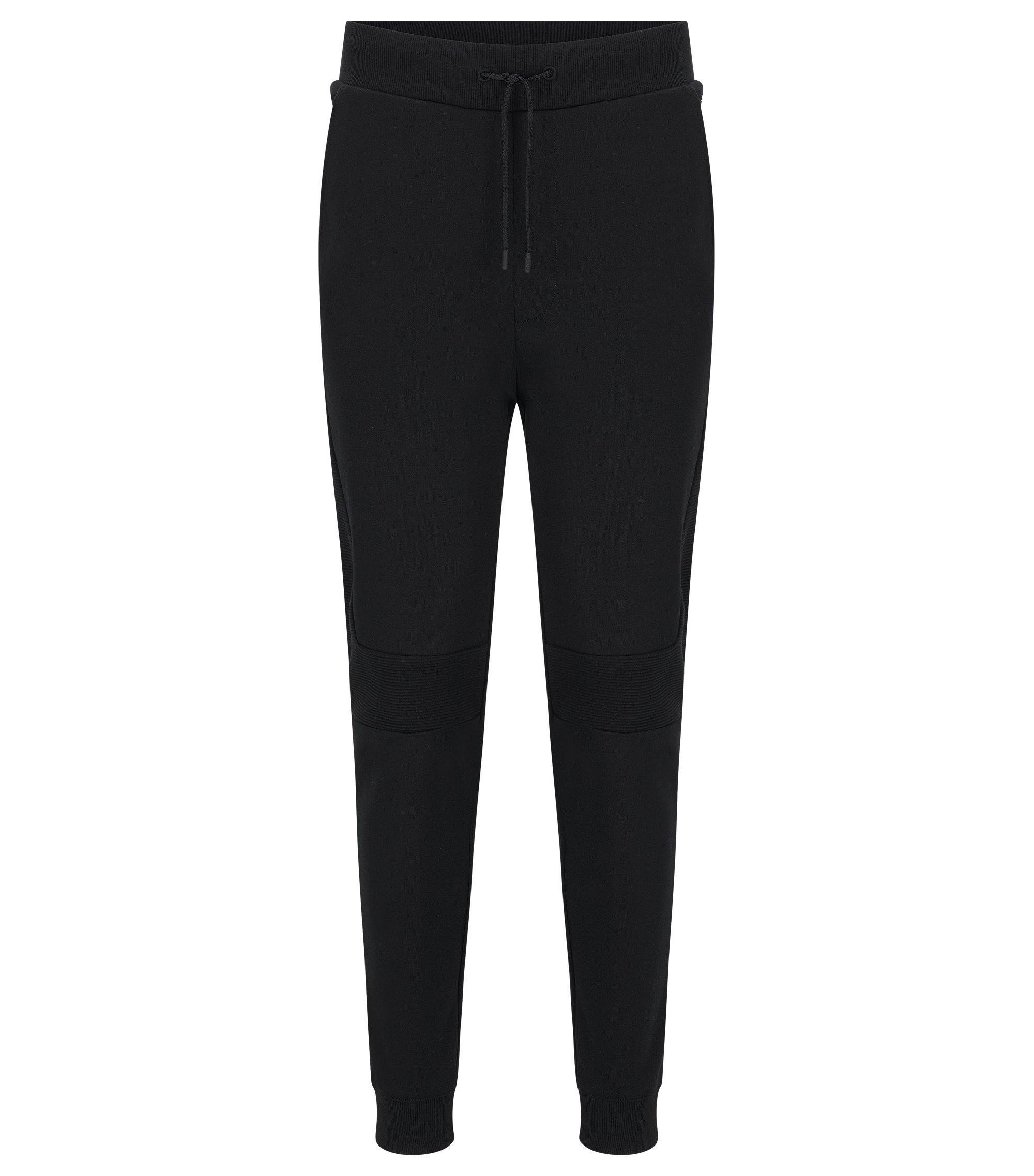 Cotton Jersey Lounge Pant | Darlton, Black