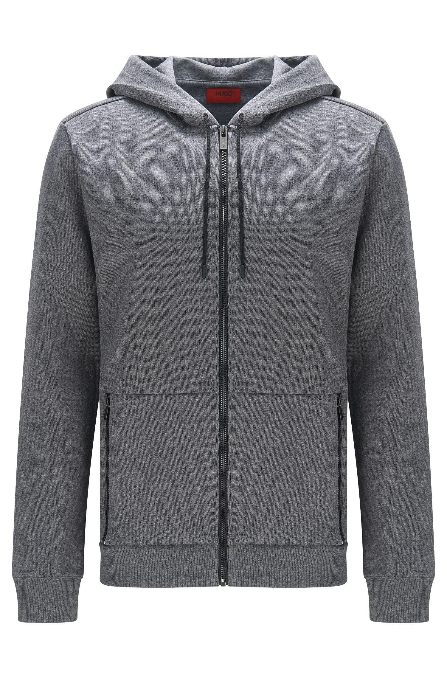 Cotton Hooded Sweatshirt | Dampton