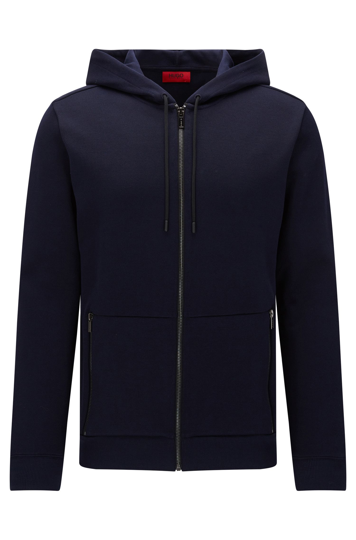 Cotton Hooded Sweatshirt | Dampton