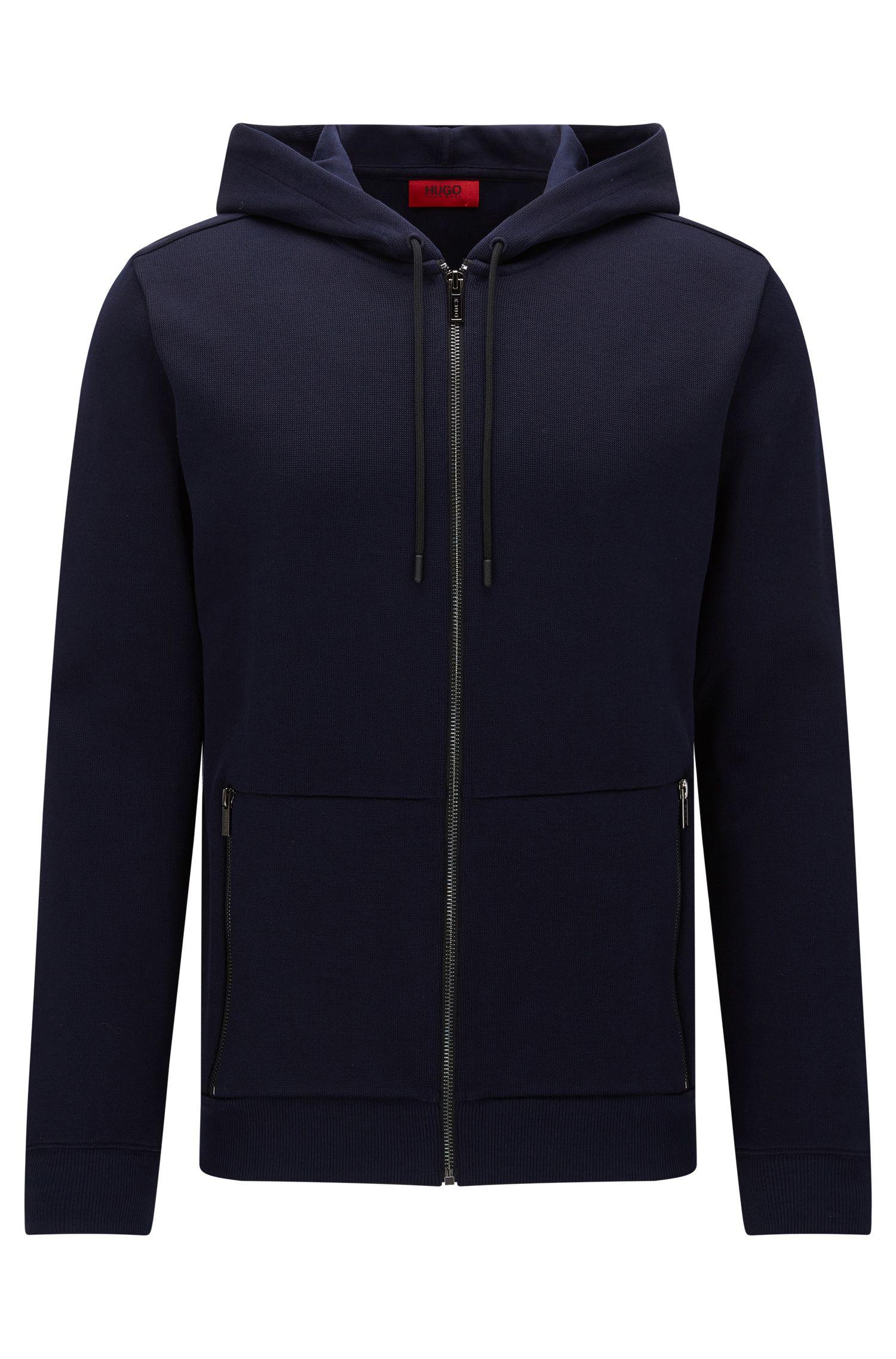 Cotton Hooded Sweatshirt   Dampton