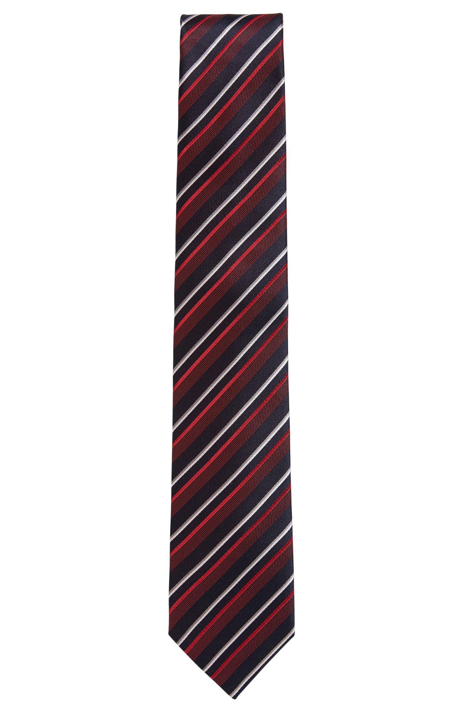 'Tie 7.5 cm'   Regular, Striped Silk Tie