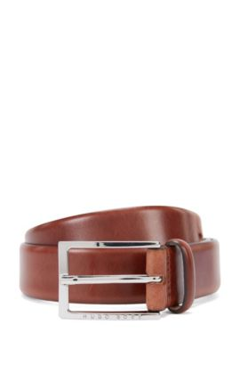 'Ceddes' | Leather Belt, Brown