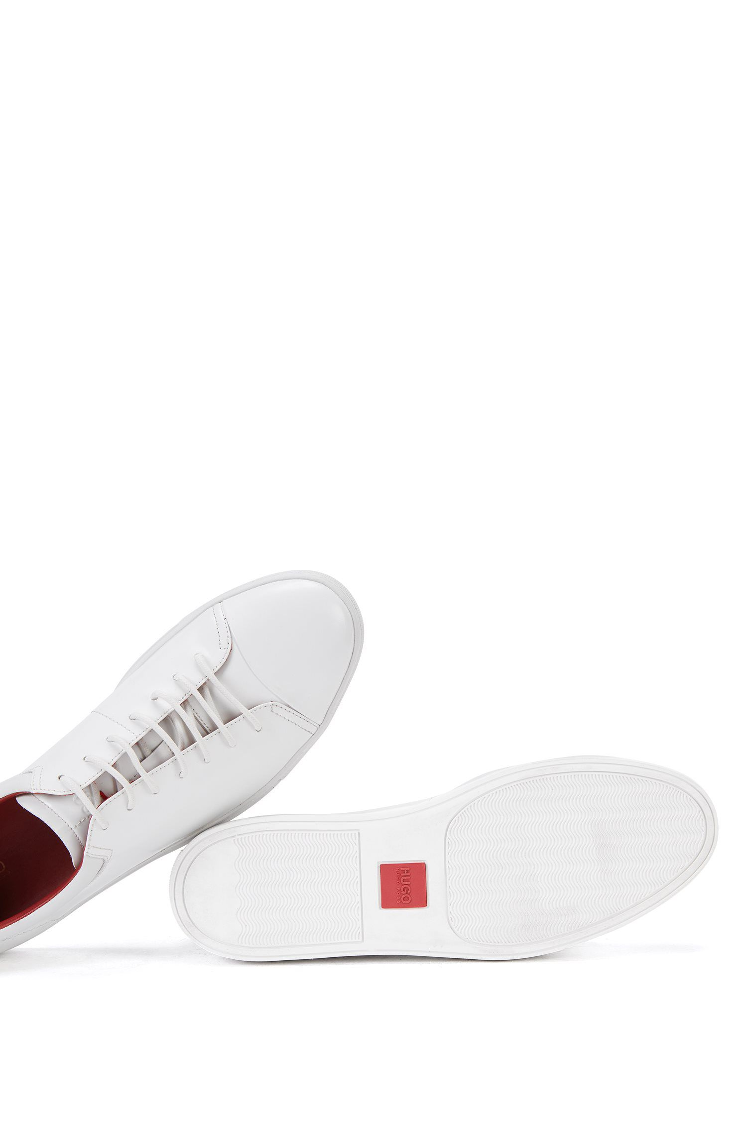 Leather Tennis Shoe | Casual Fut Tenn Boct, White