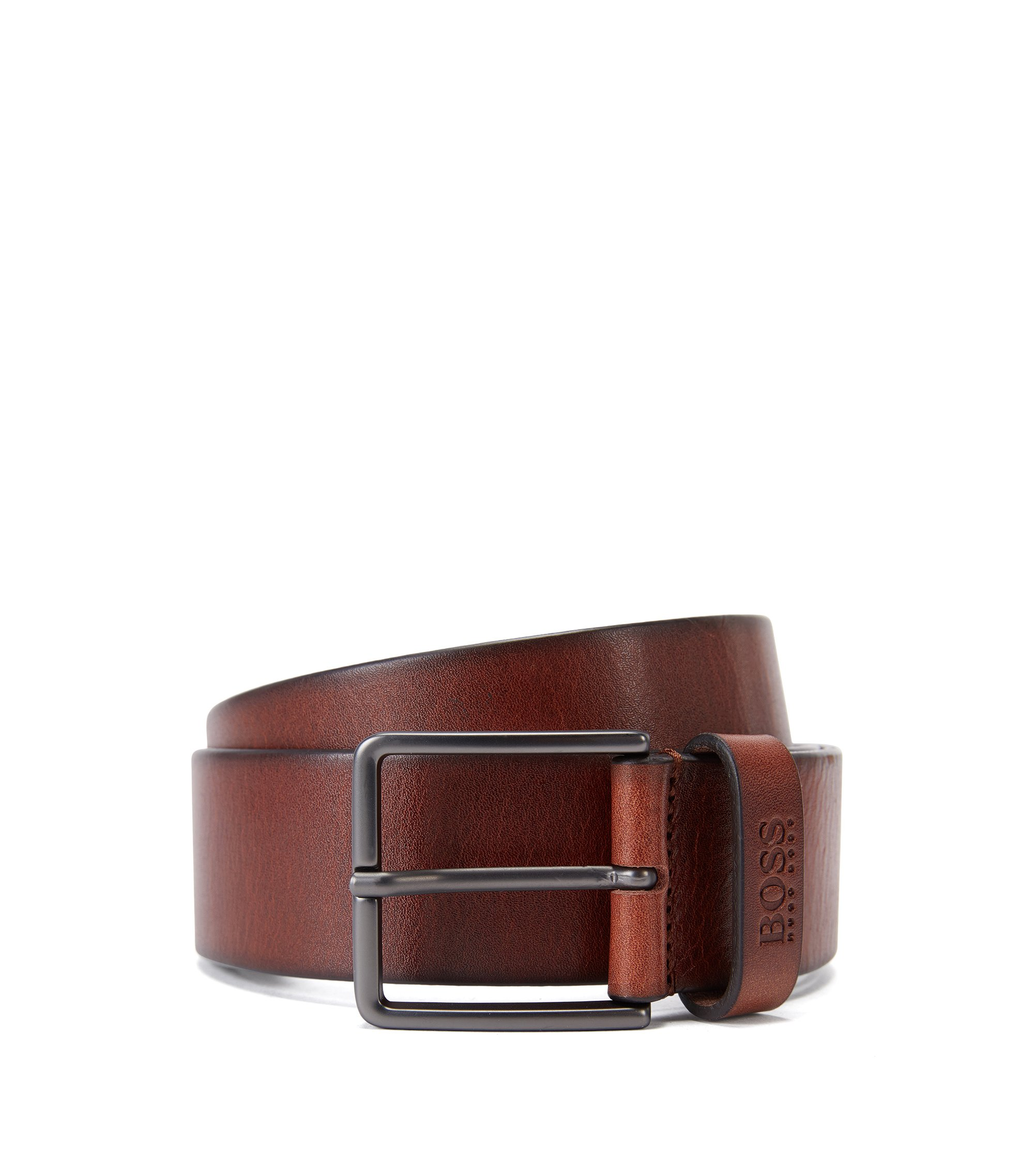 Leather Belt | Serenus Sz40 Ltpl, Brown