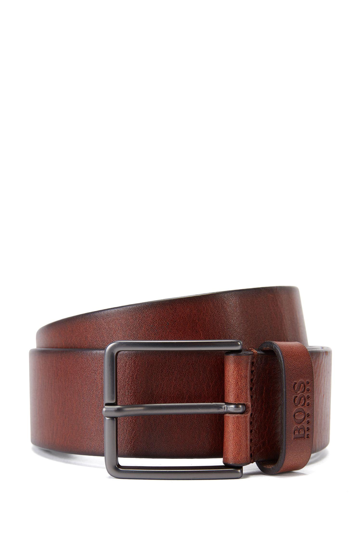 Leather Belt | Serenus Sz40 Ltpl
