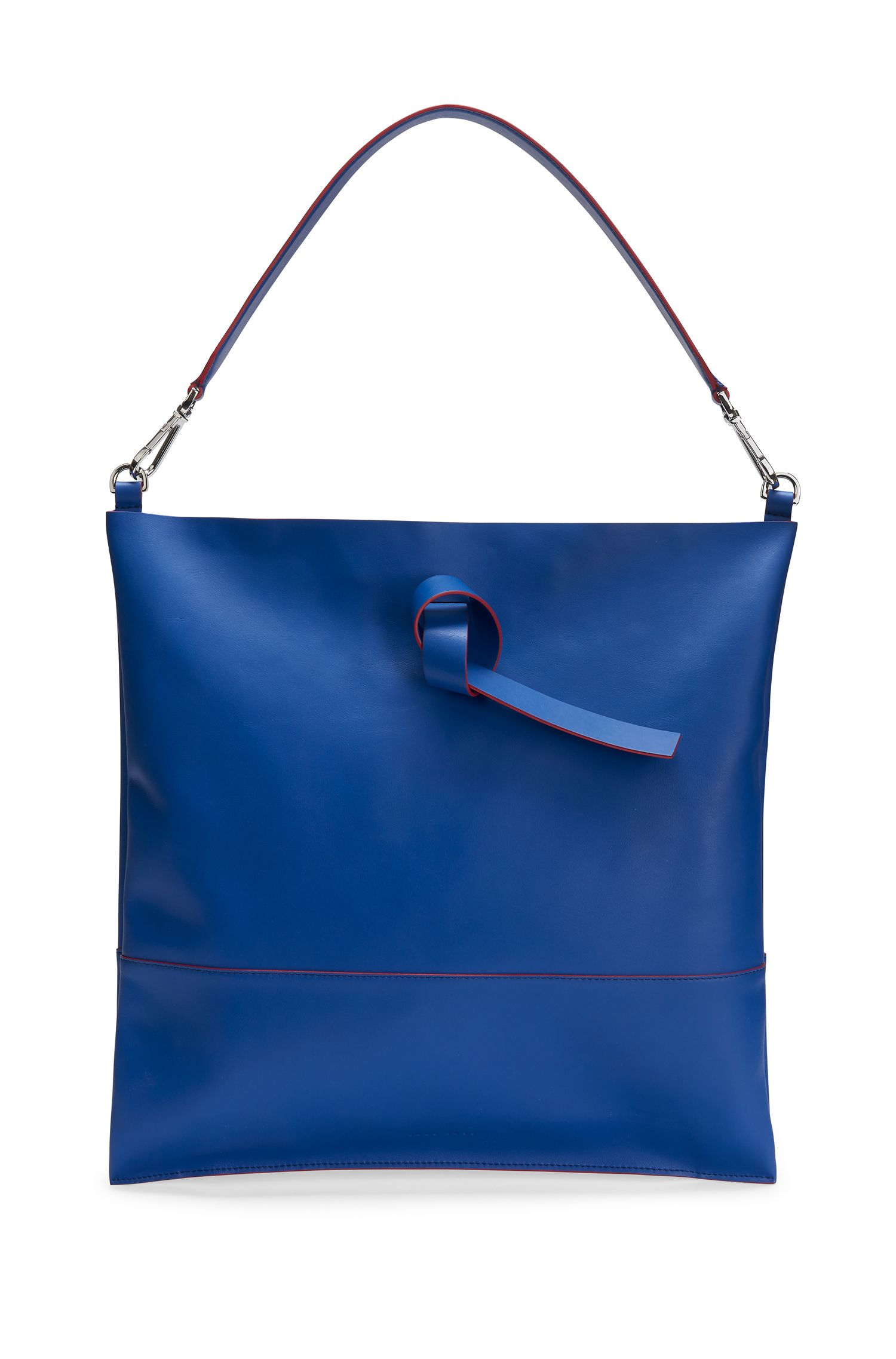 'Modern Day Tote' | Italian Leather Handbag, Detachable Strap