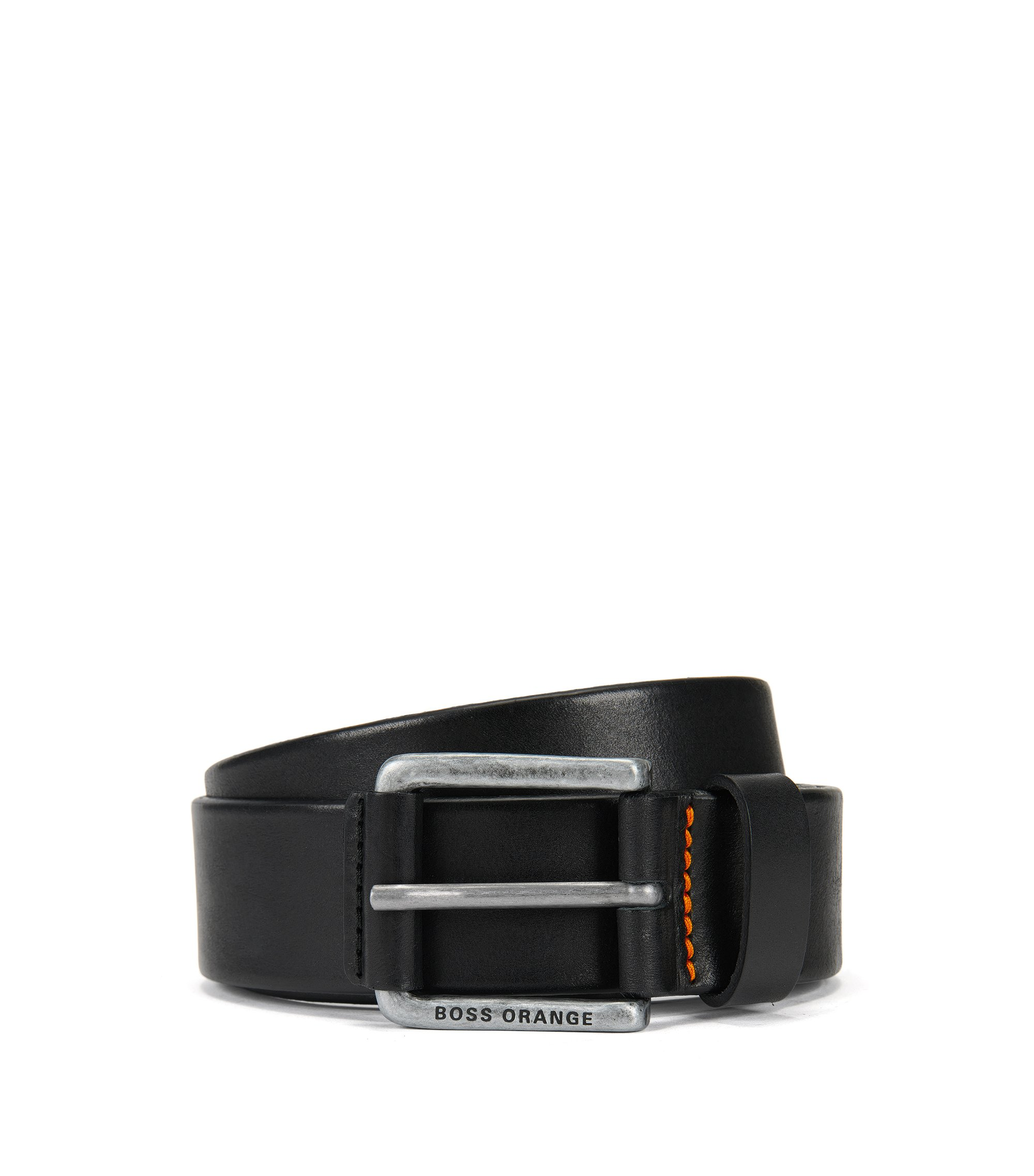 Leather Belt | Jakab Sz40 Ltpl, Black
