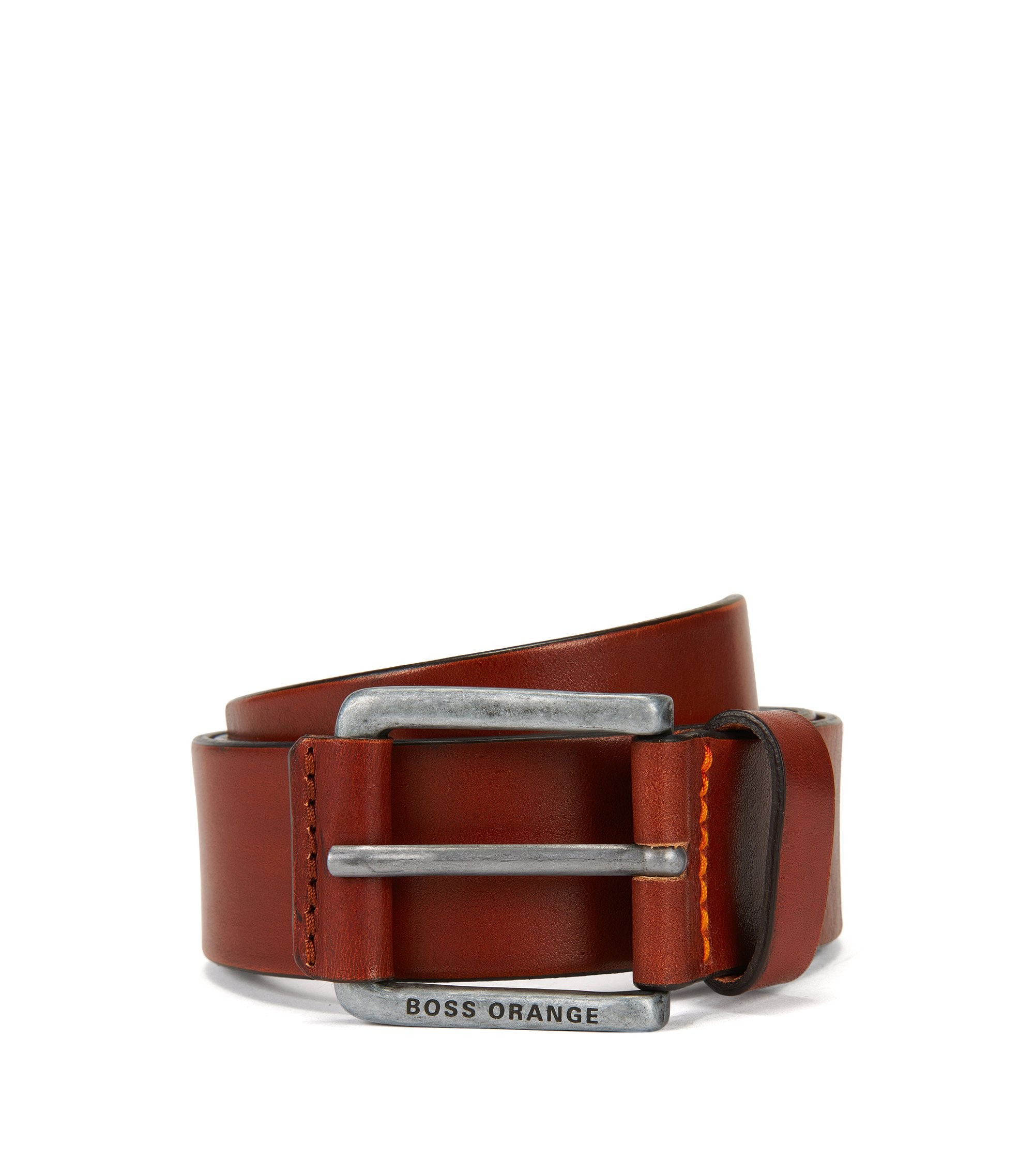 Leather Belt | Jakab Sz40 Ltpl, Brown