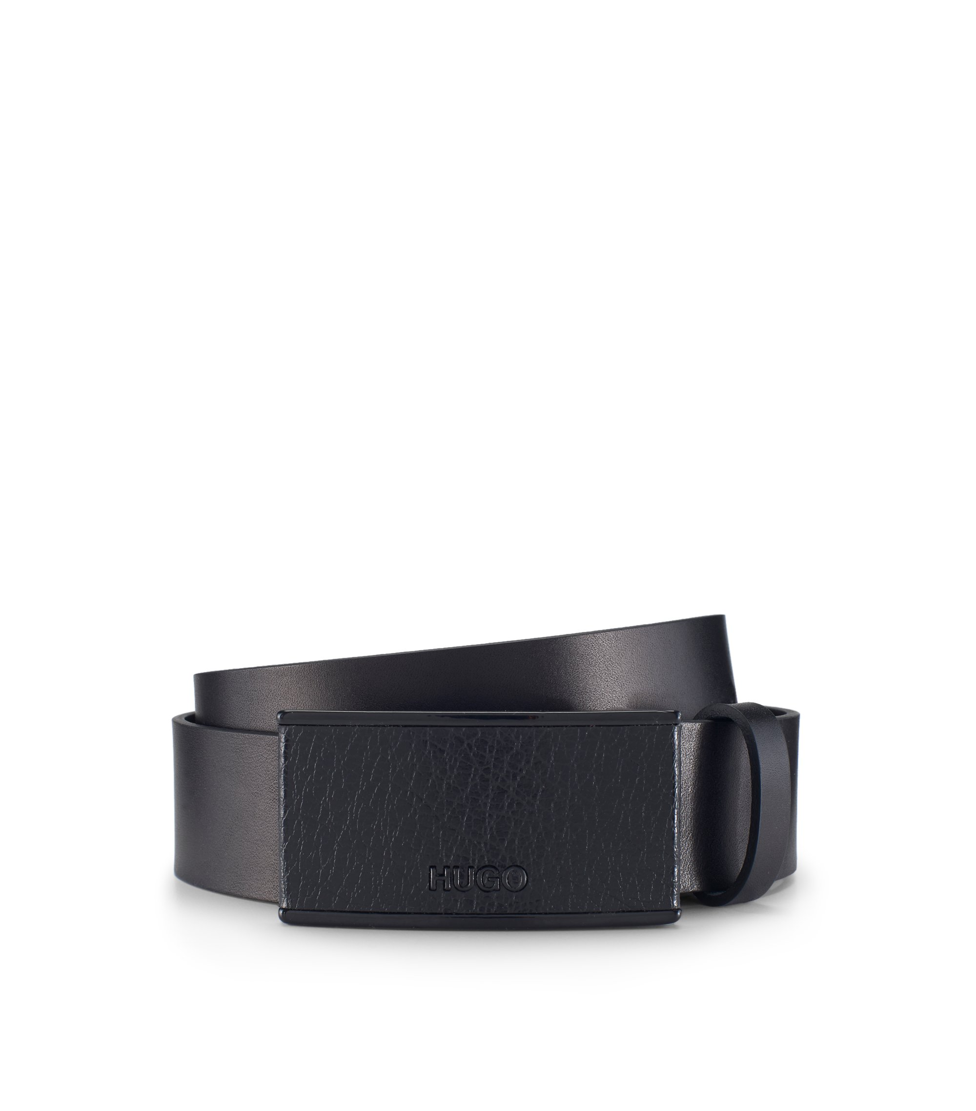 Leather Belt | Gerdy, Black