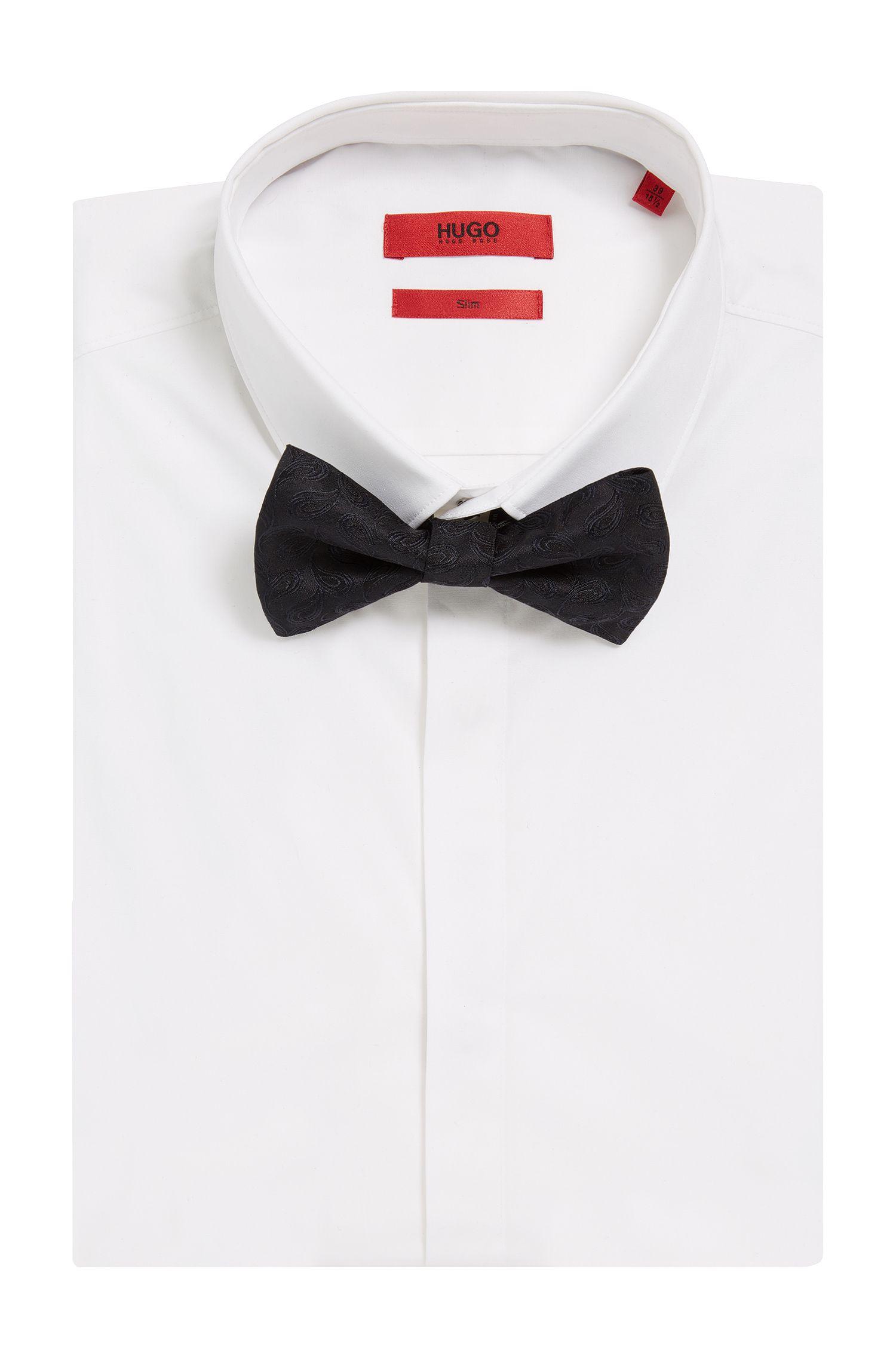 Paisley Italian Silk Bow Tie