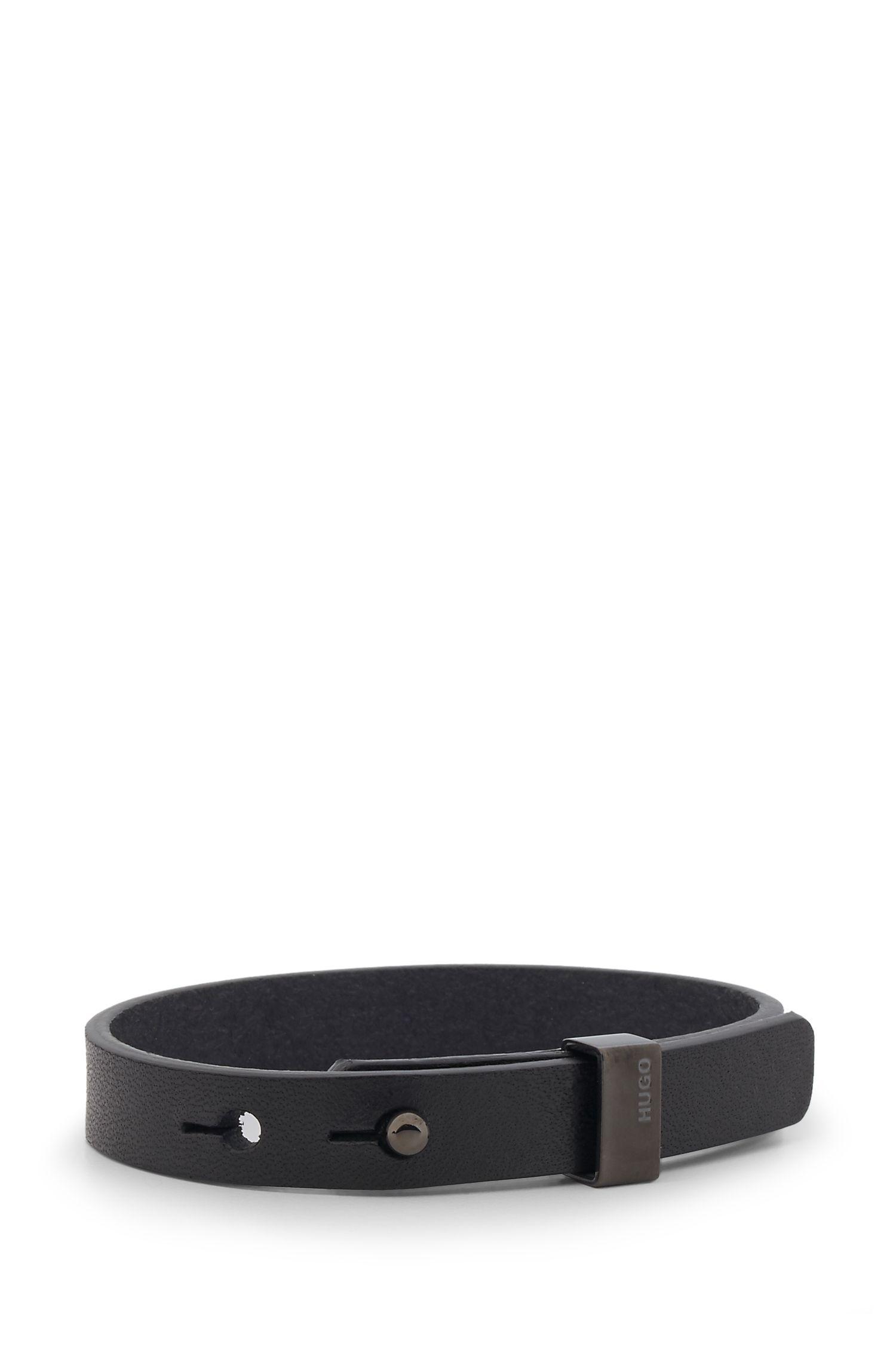 'E-Loop' | Leather Bracelet