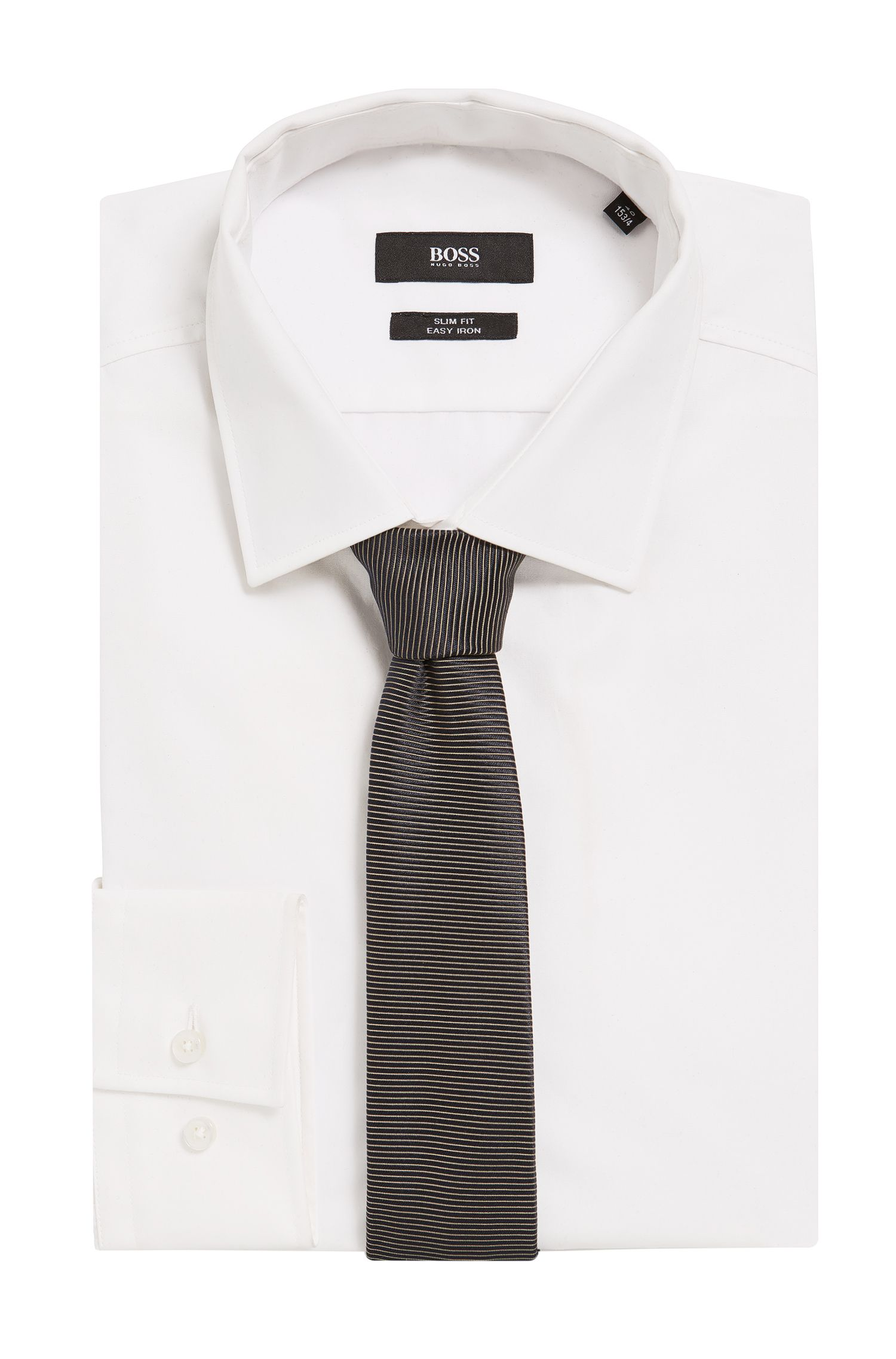BOSS Tailored Italian Silk Slim Tie
