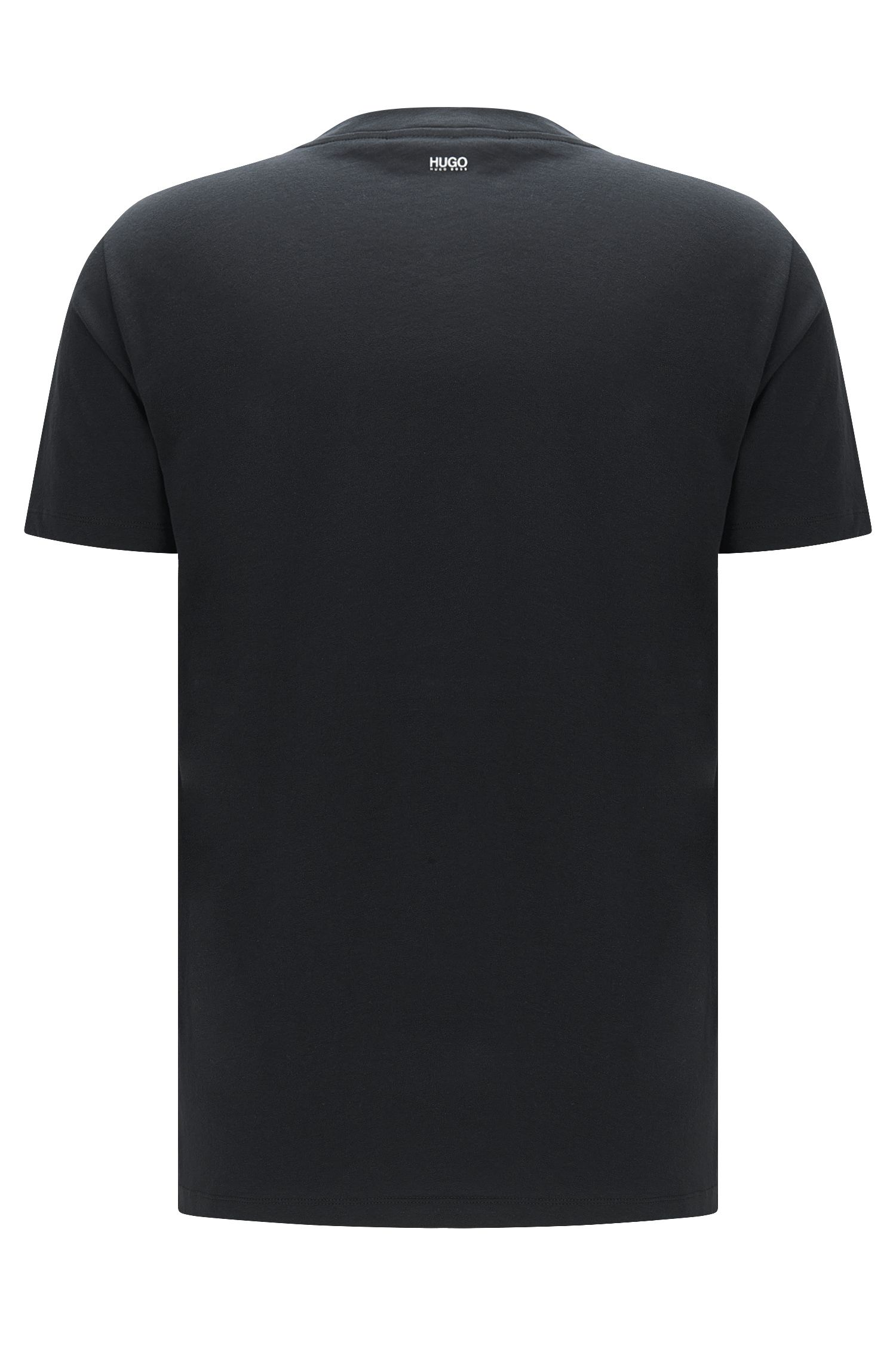 Cotton Embroidered T-Shirt | Darwood