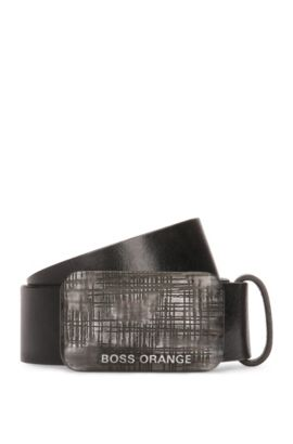 Leather Belt | Jan, Black