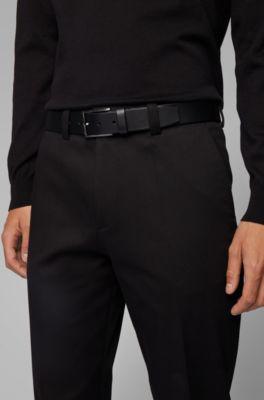 Hugo Boss Mens Sammyo/_Sz35/_ltpl Belts 100/% Cow skin Brand New