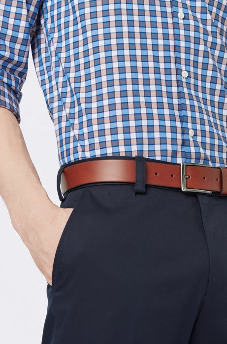 Hugo Boss Mens Sammyo/_Sz35/_ltpl Belts 100/% Cow skin Brand New