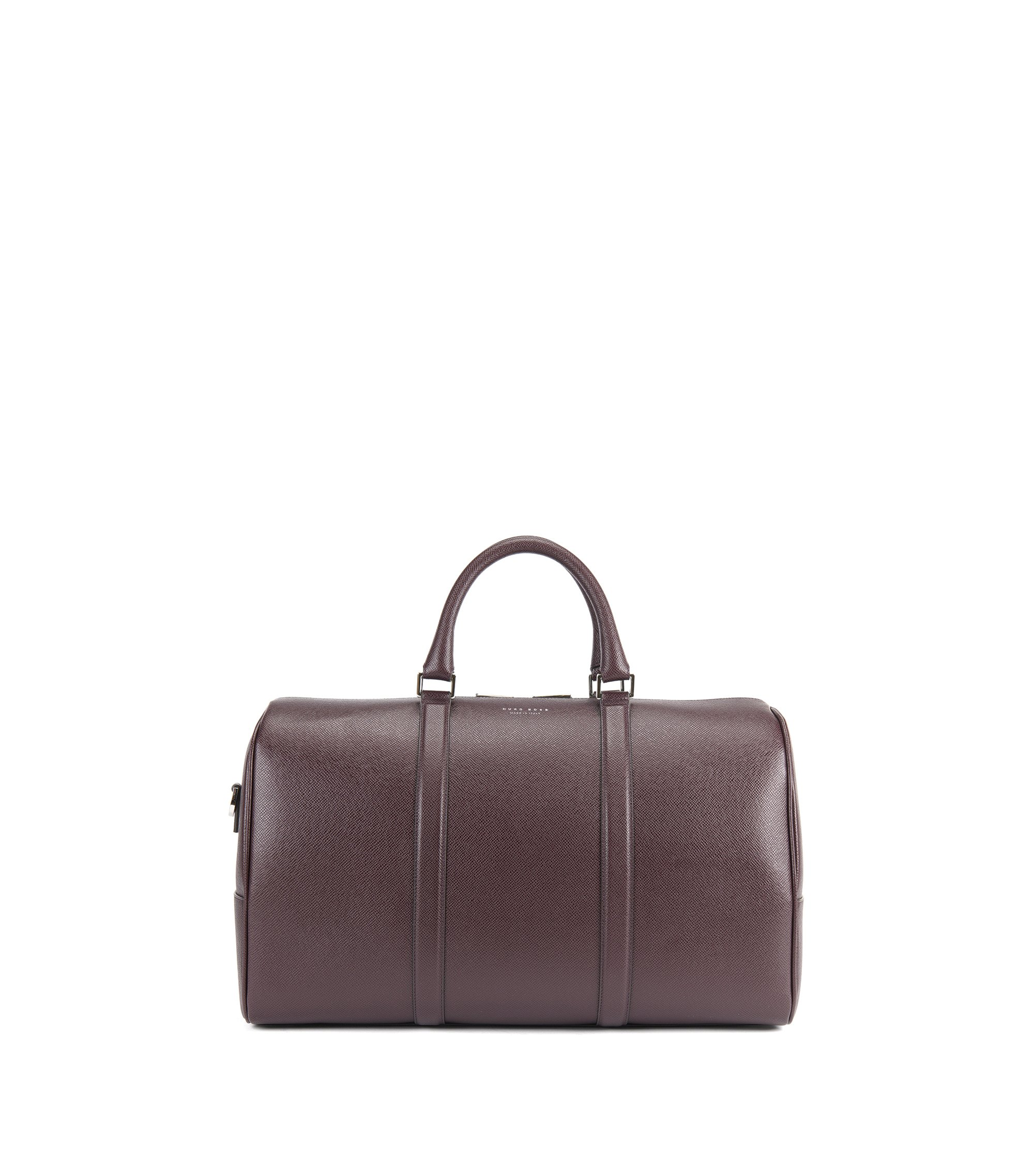 Weekender Bag | Signature Hold, Dark Red