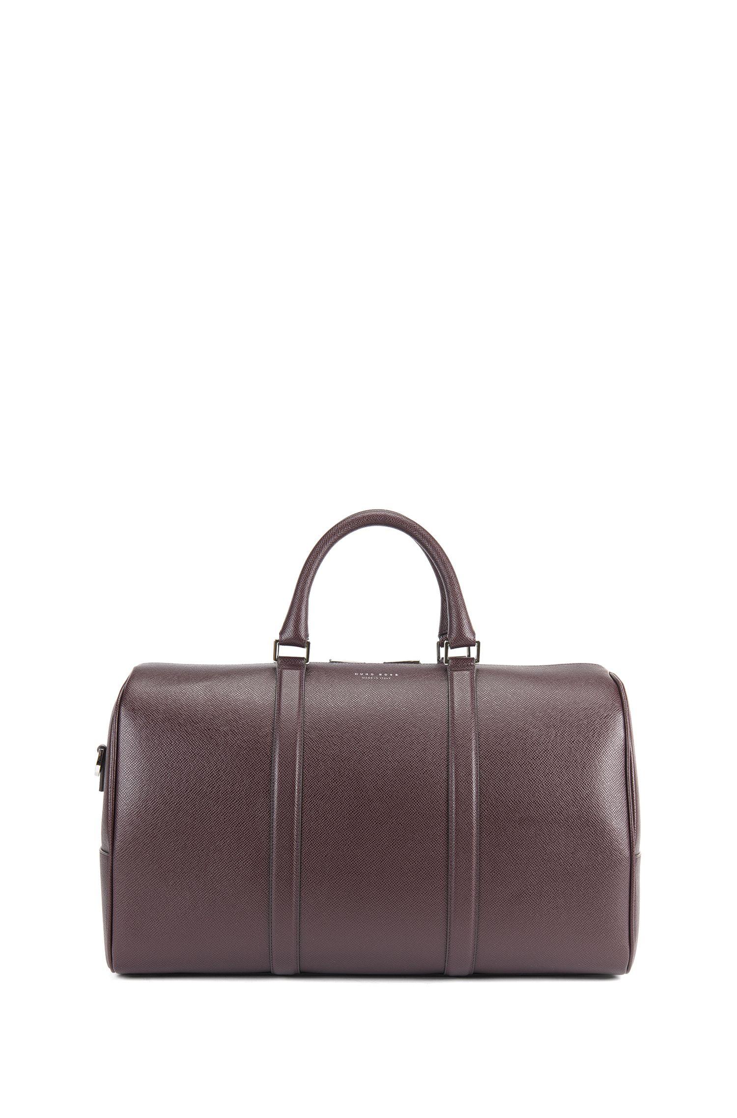 Weekender Bag | Signature Hold, Dark Red