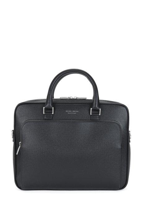 135ed30432 'Signature Slim Doc' | Palmellato Leather Bag, Black. '